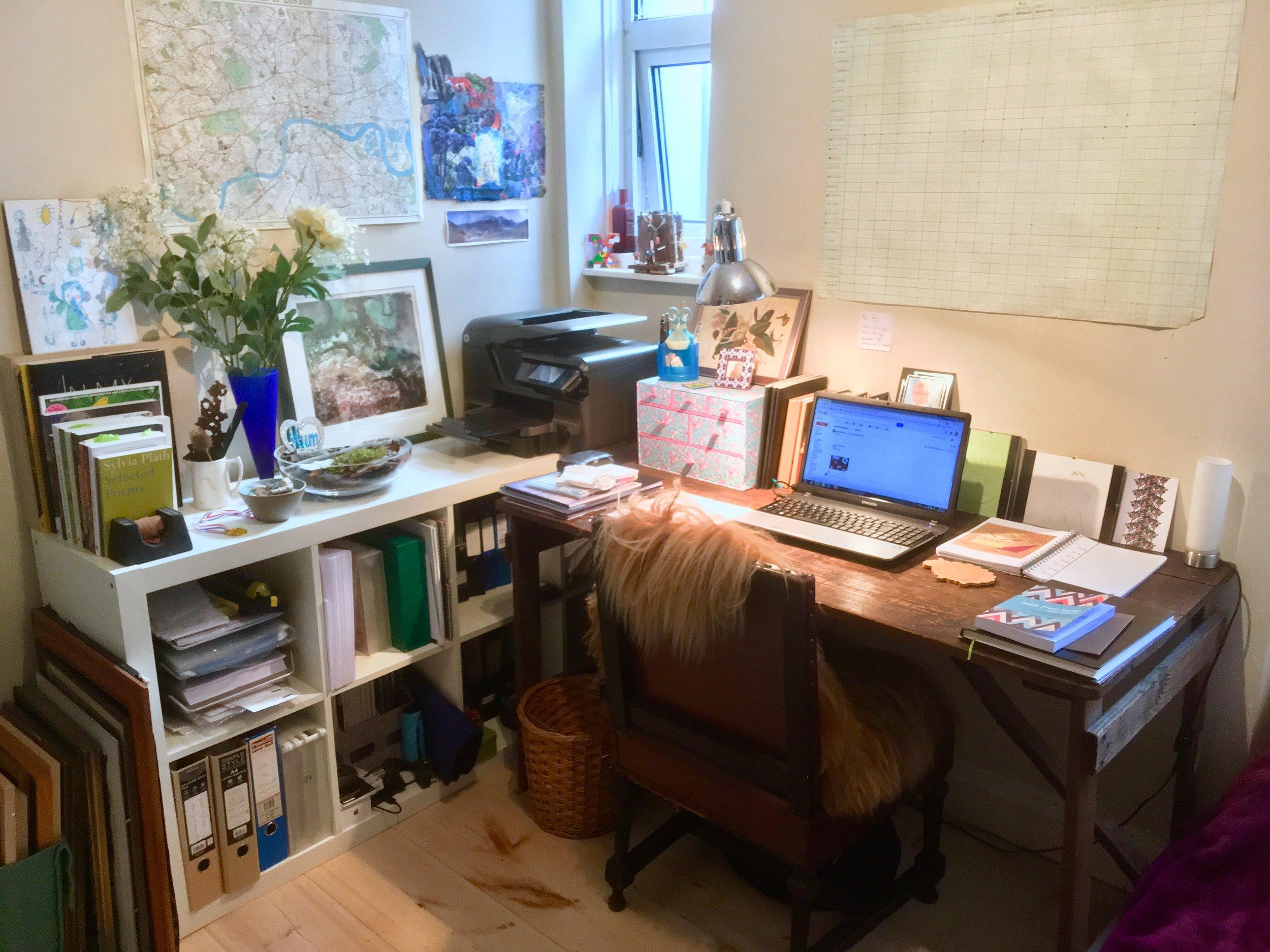 Xaverine's home-studio