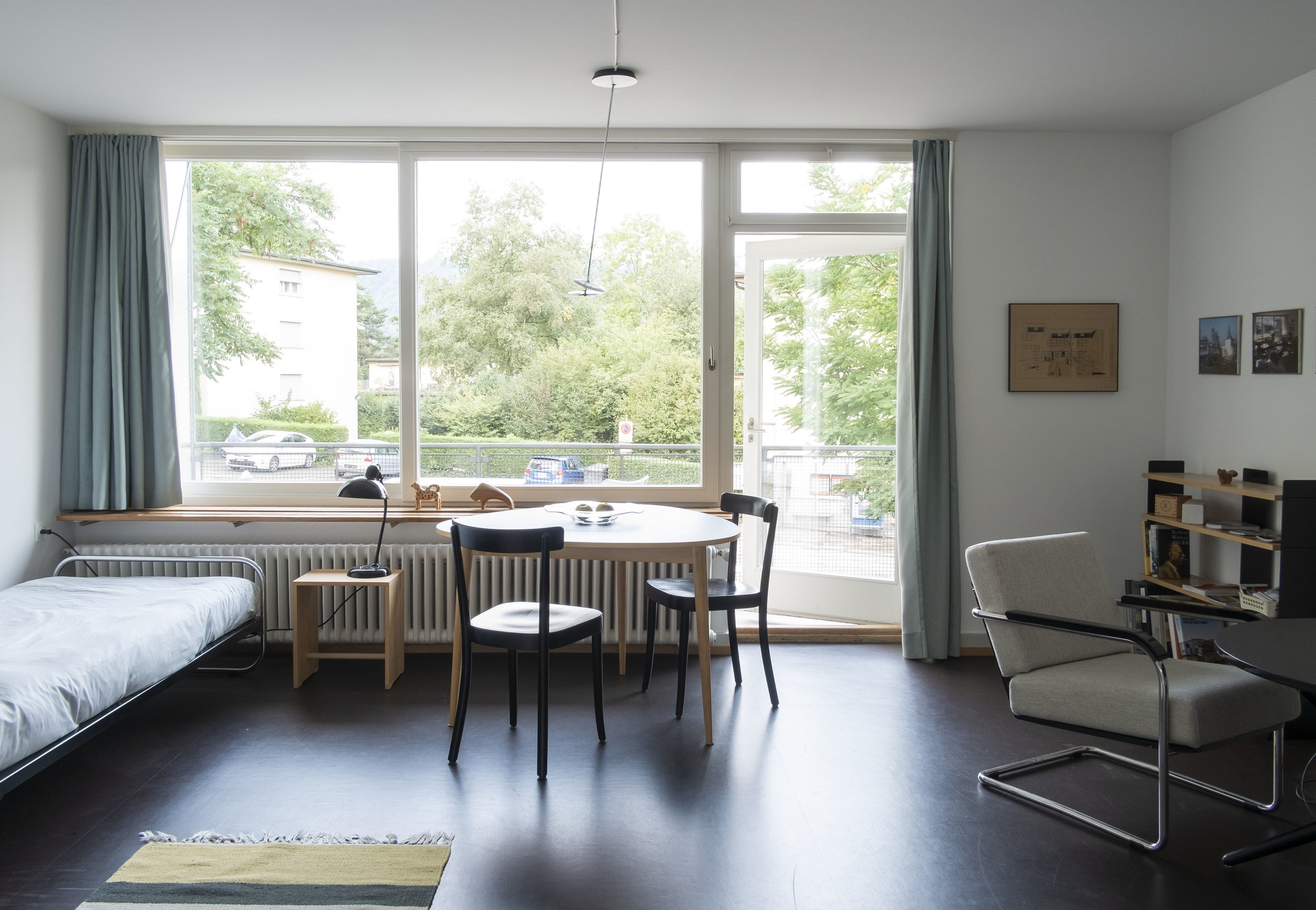 The guest apartment studio room