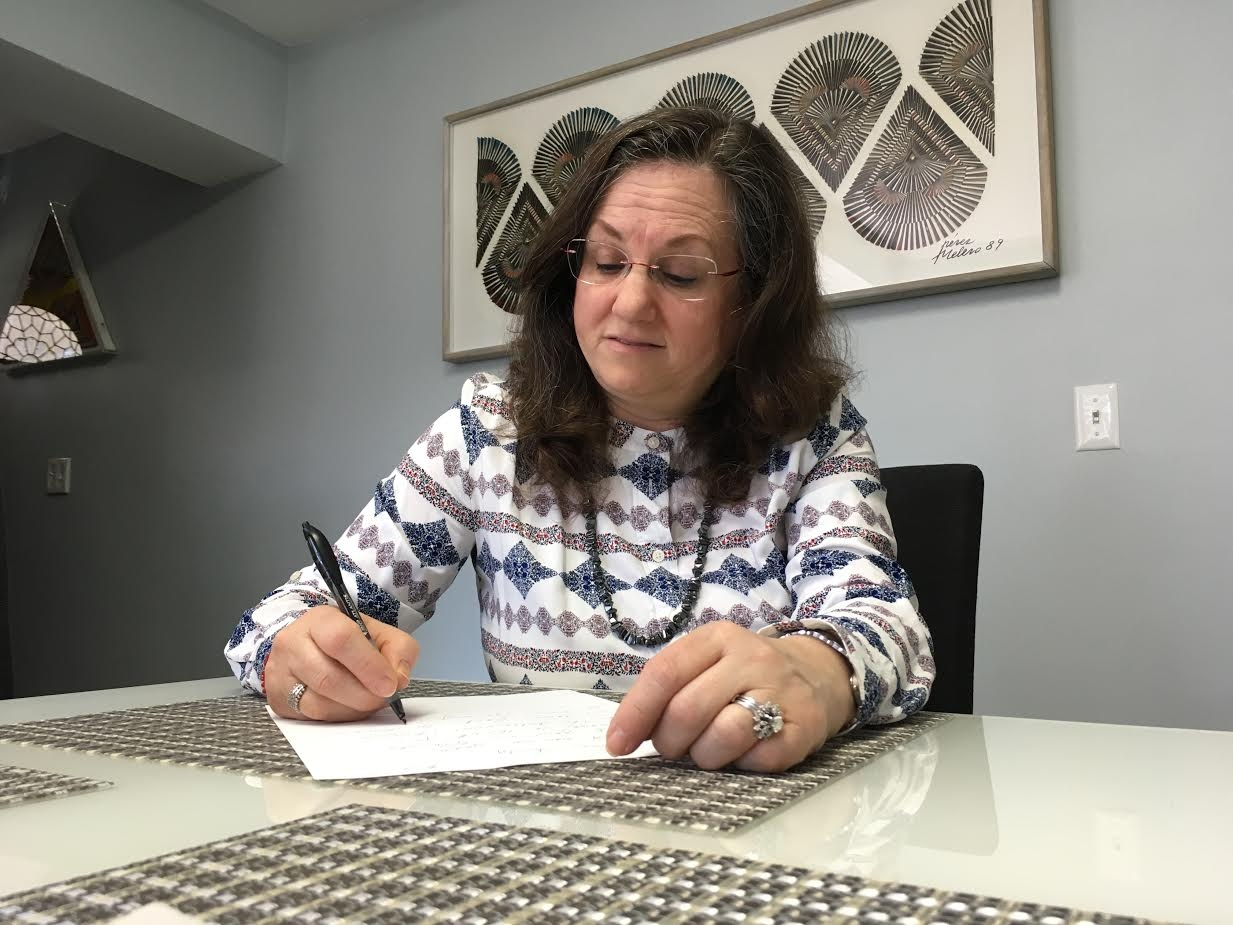 Sharon Penning a Letter April 2017 South Orange, New Jersey