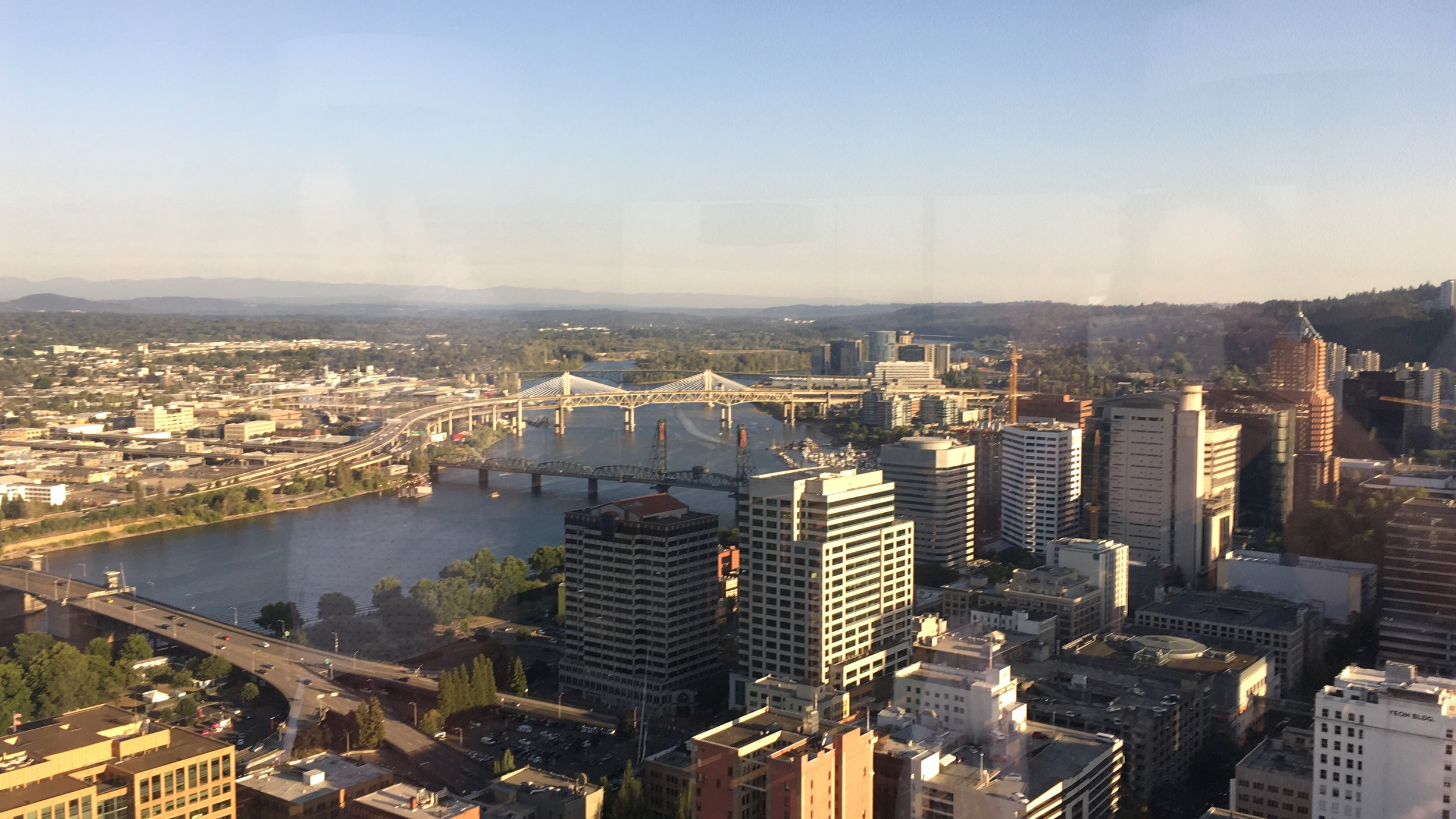 2018 view from Judd's Portland, Oregon office