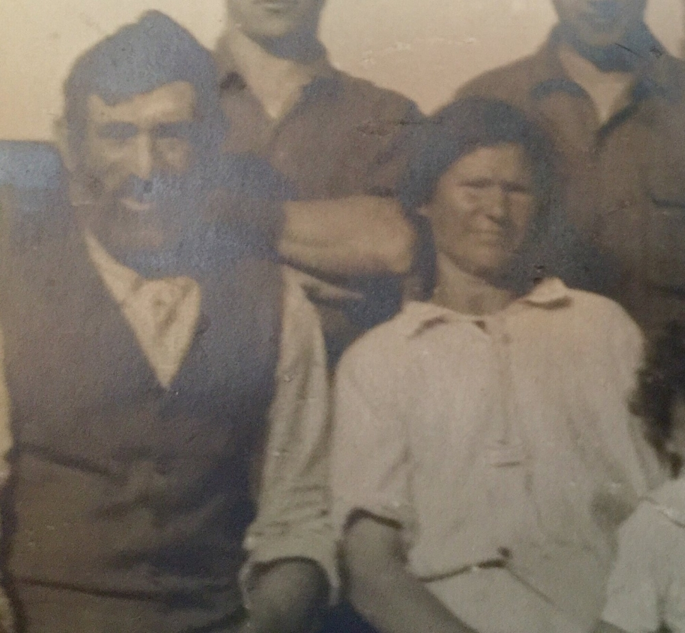 My husband's maternal grandparents -Morris Pollack (Zayda) and Jennie Bloom Pollack