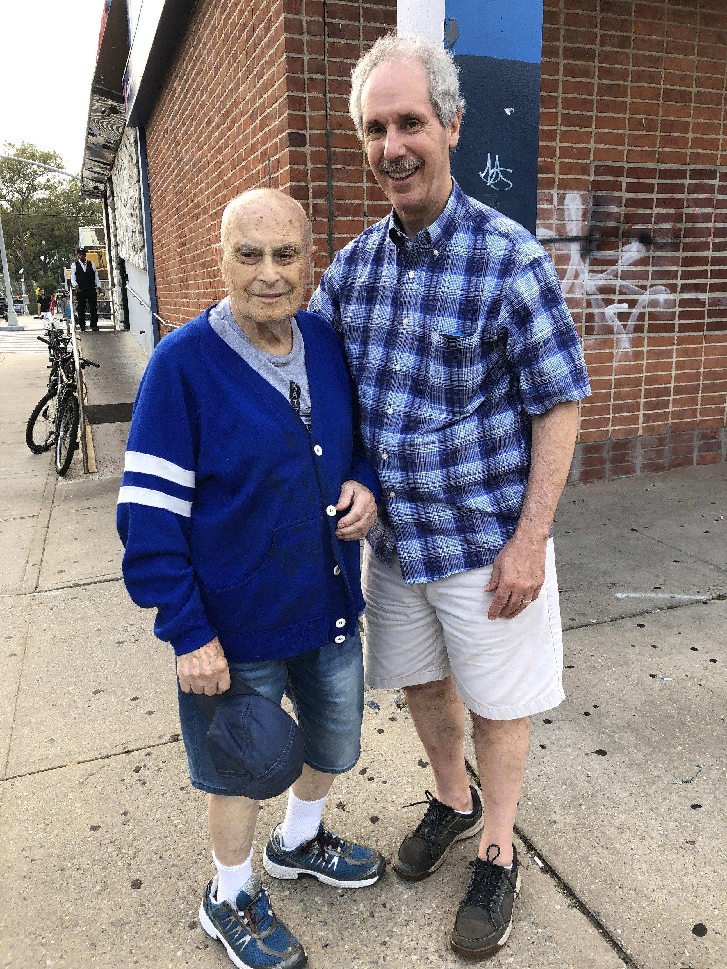 Lou Weber and Arnee Cohen Brooklyn, New York August 18, 2019