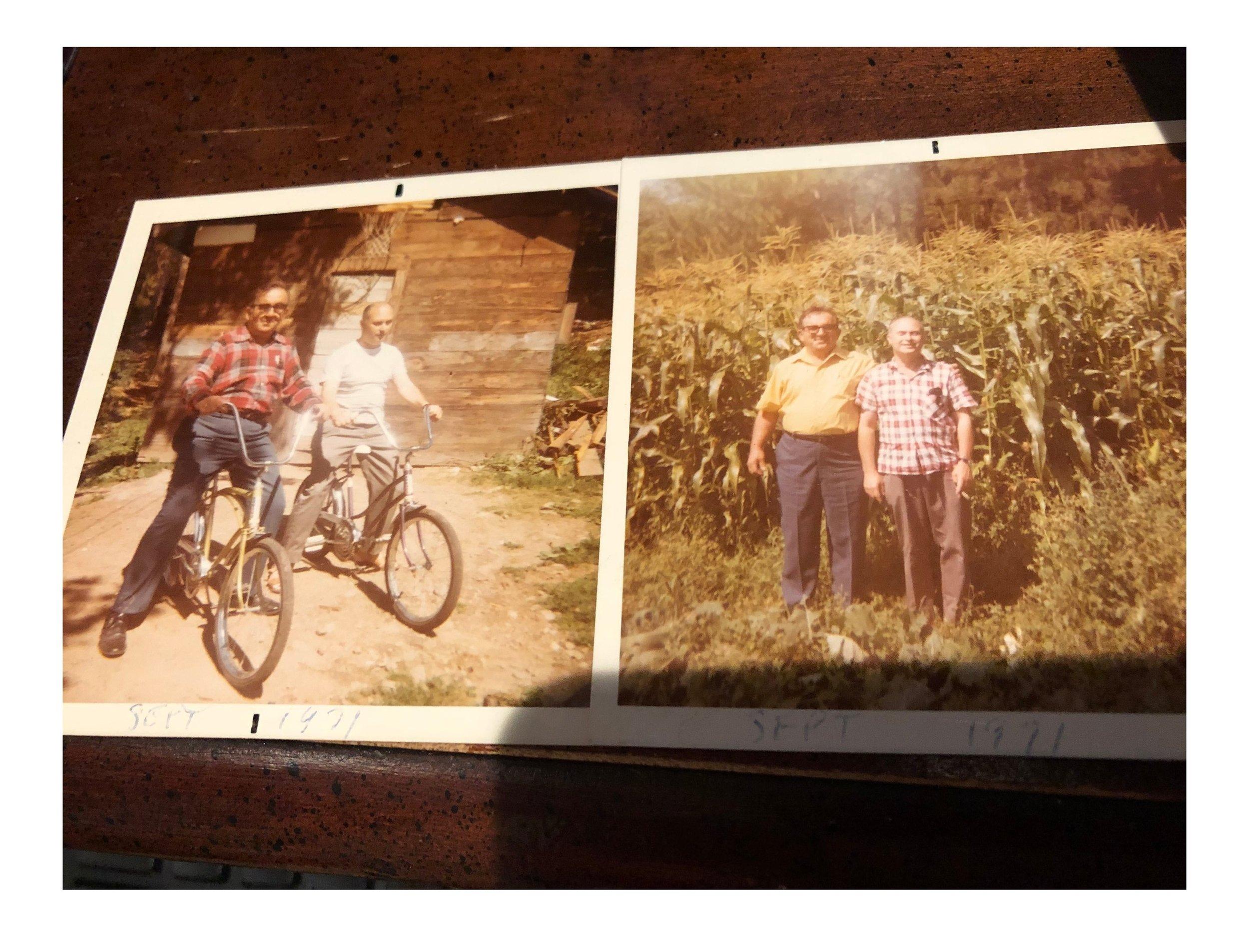 Ben Mark and Lou Weber 1971 Catskills