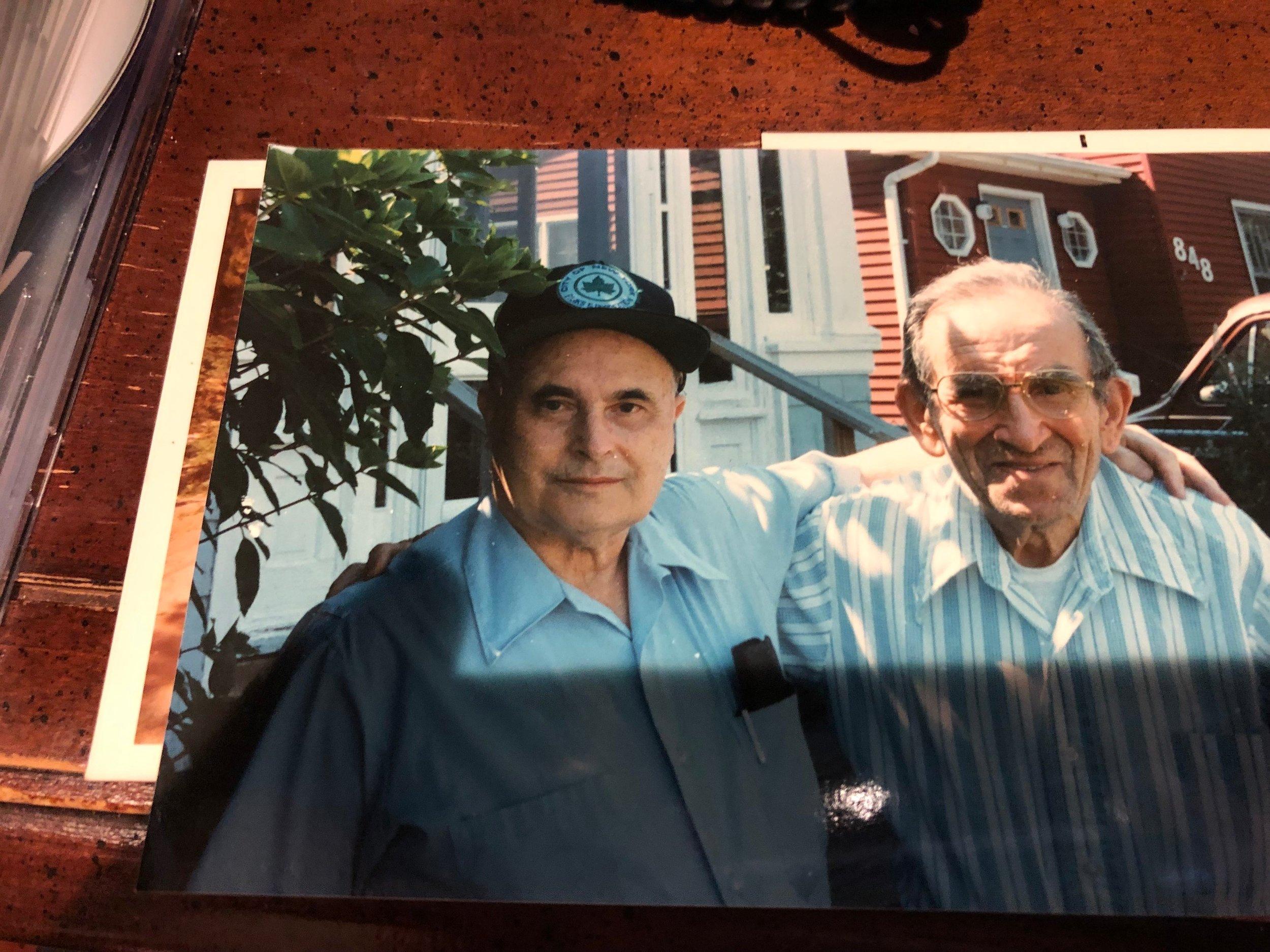 Lou Weber and Ben Mark 1990s Elizabeth, New Jersey