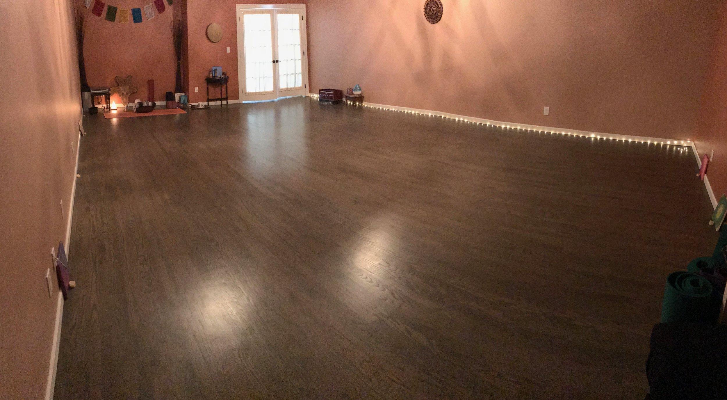 Yoga Practice Space 19x29