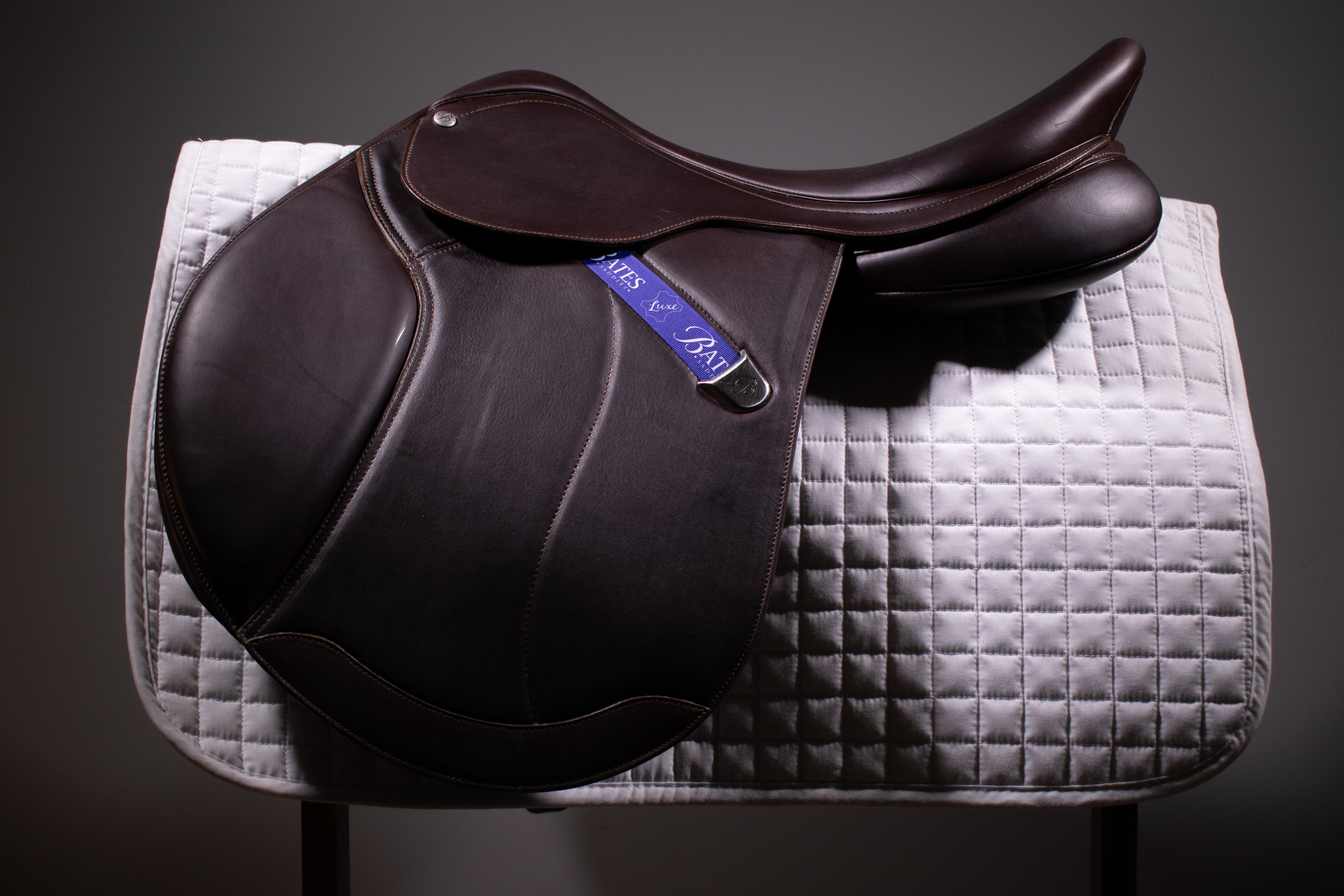 My new Bates Caprilli Close Contact + saddle in the Luxe Leather