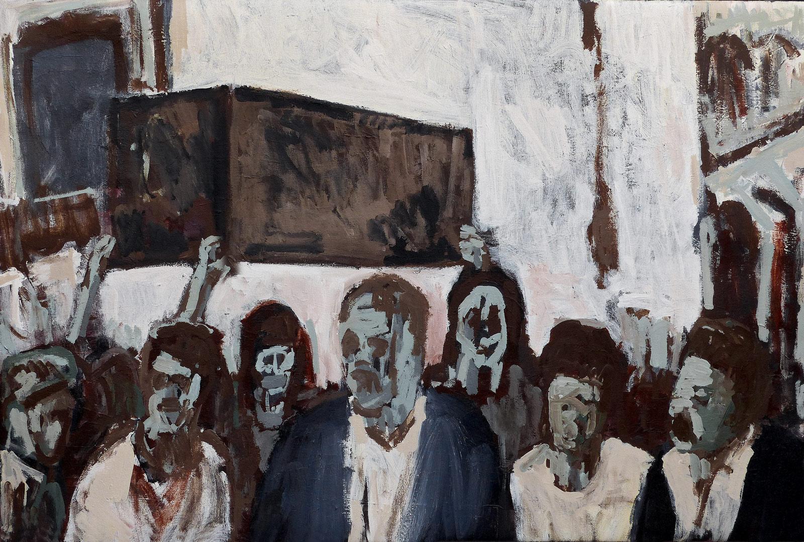 Ark of the Covenant  Acrylic on canvas 120x80cm  2019