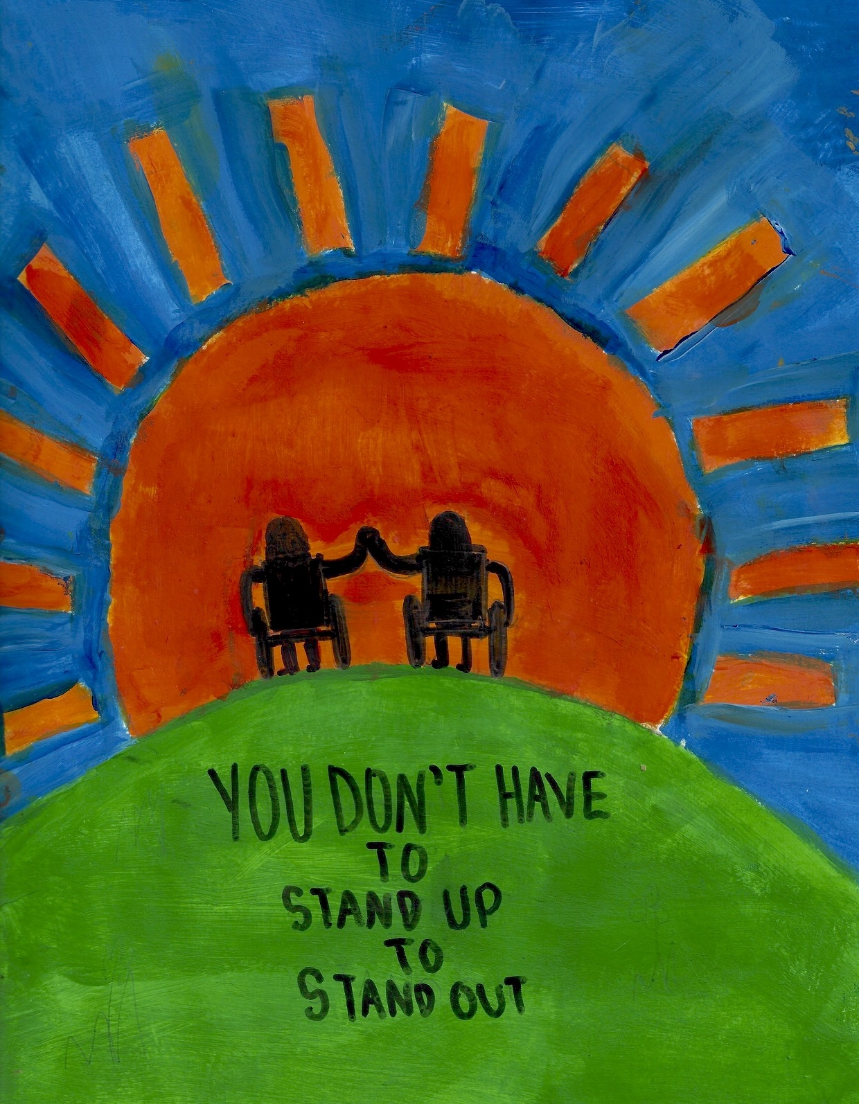 004 - STAND OUT by Tasha Sudofsky (age 13) in Marion, Massachusetts, USA