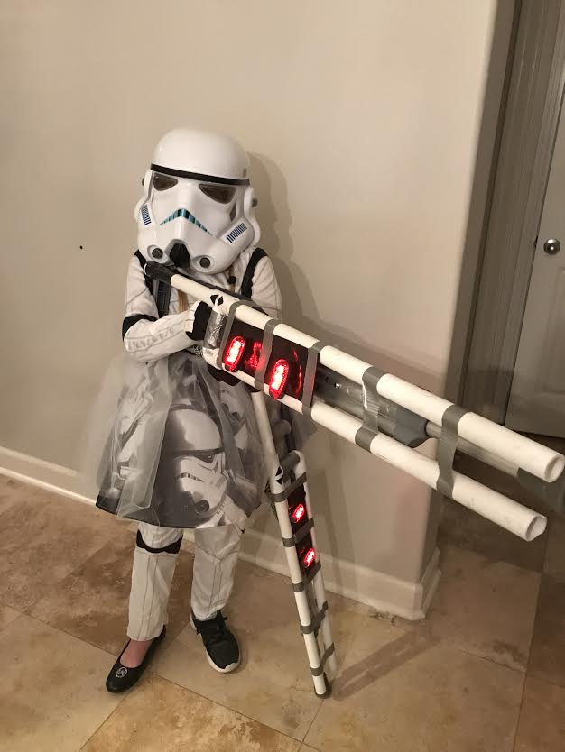 """Storm Trooper with crutch guns"""