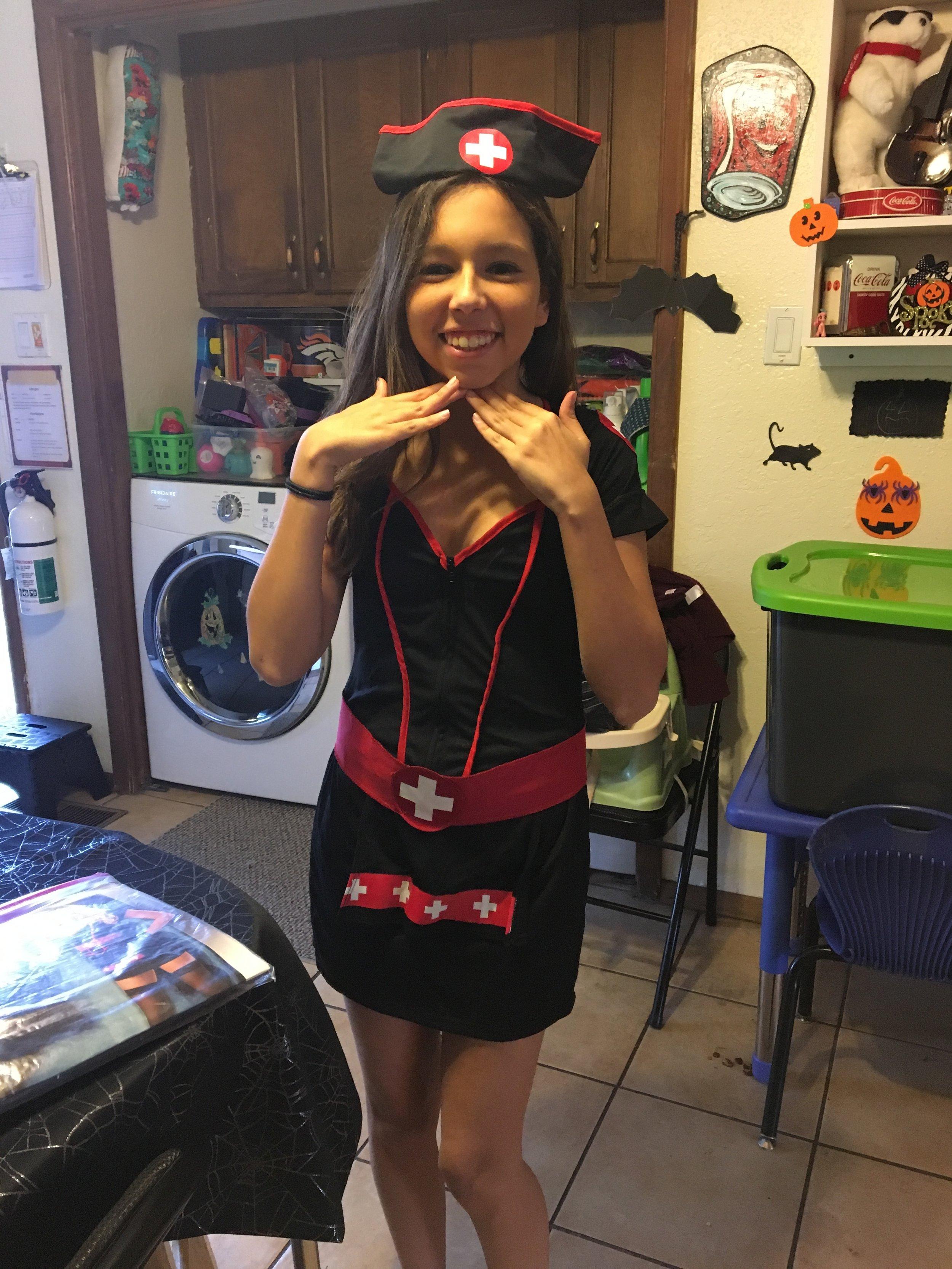 "Copy of Sonja Lovitt, Age 15, Santa Fe, NM, Perthes (bilateral), ""Nurse"""