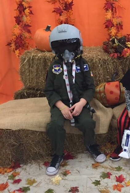 "Noah Conforti, Age 9, Penn Valley, CA, Perthes (right hip), ""Air Force Fighter Pilot"""
