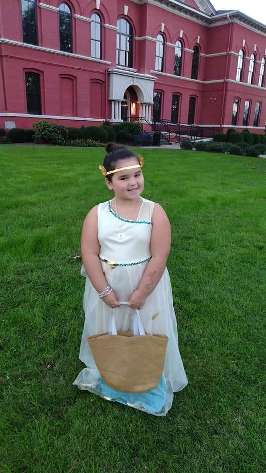 "Copy of Allie Soper, Age 8, Williamson, GA, Perthes (left hip), ""Goddess"""