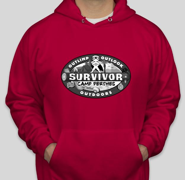 Survivor Camp Perthes (red)