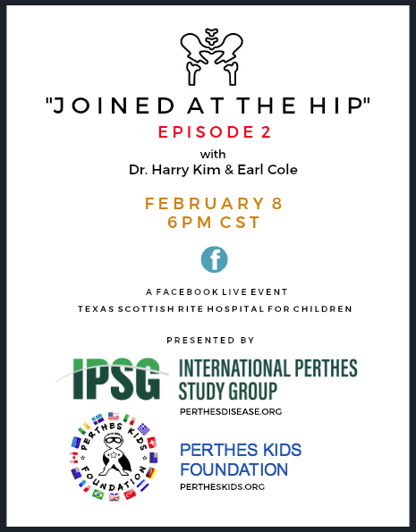 Perthes Statistics, Research, Treatments, Surgery, Bone Regrowth, Parent Support, Adulthood, Global Advocacy, Awareness, Social Media, Cure, Perthes Q&A - Perthes Kids Foundation will be attending Controversies in Pediatric Limb Reconstruction (CPLR), which will be held at Texas Scottish Rite Hospital for Children in Dallas, Texas on February 8-9, 2019. CPLR is an interactive symposium with a focus on Blount's disease, congenital pseudoarthrosis of the tibia, congenital femoral and tibial deficiencies, Perthes disease and bone biology. There will be a special presentation and discussion dedicated to Legg-Calvé-Perthes disease on Saturday, February 9th.