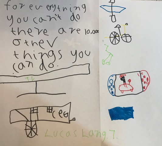 007 - 10,000 THINGS by Lucas Lang (age 7) in Traralgon, Australia