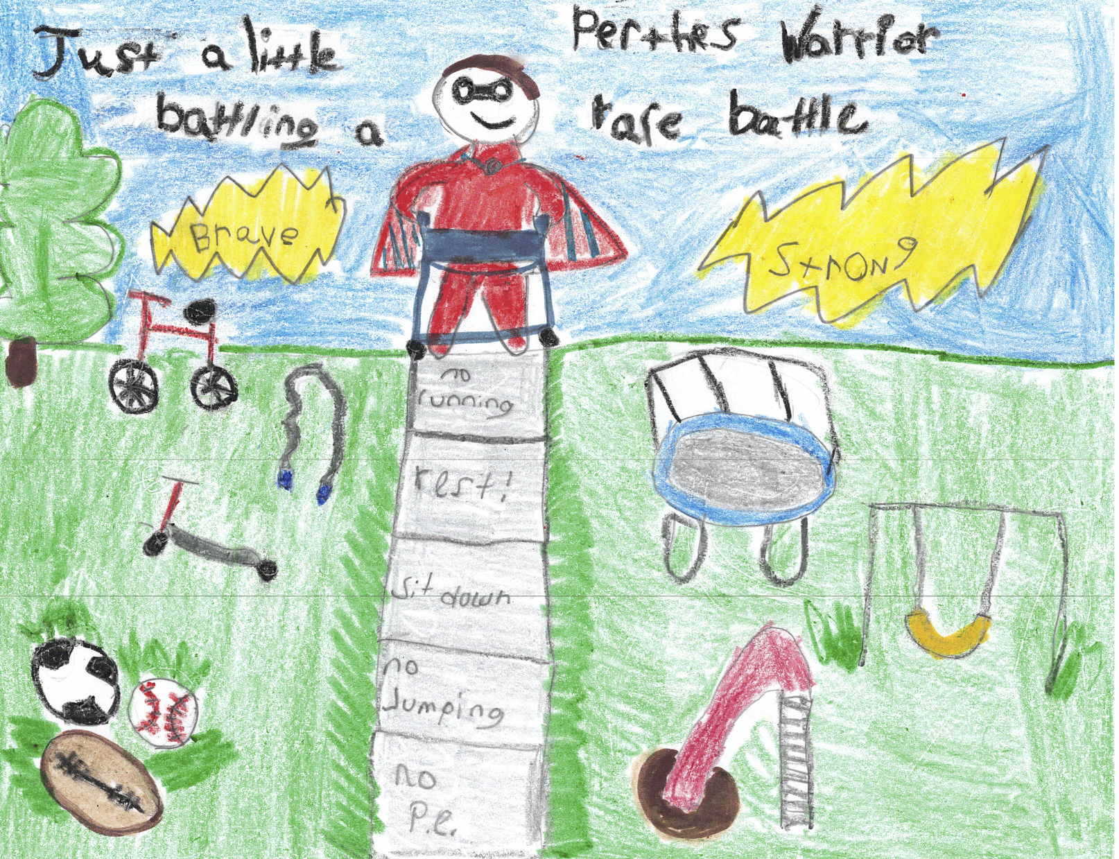 008 - RARE BATTLE by Royce Rodriguez (age 6) in Boaz, Alabama, USA