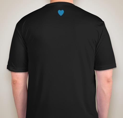 #PerthesStrong Performance Shirt (BLK, back) - by Sports Tek, fundraiser ends 3/16/19