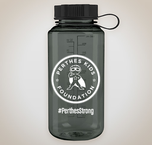 #PerthesStrong Fundraiser for Perthes Kids! - Perthes Kids Foundation needs your support! Not only are we raising funds for 4 different Perthes kids camps, in 4 different countries, but we will also be represented in a few IRONMAN triathlon competitions, this year! Yes, we are all #PerthesStrong in 2019! It is our hope that this special, limited-edition, sports water bottle (with new, official PKF logo) will help inspire our kids & adults, and be a symbol of their resilience, determination, and perseverance, as they take on the challenges of Perthes disease. It's not how you start your journey, but how you finish it!* Help us reach our fundraising goal of 100 bottles sold!Please purchase a PKF water bottle to help support our Perthes Kids, but to also raise more awareness for Legg-Calvé-Perthes disease. Just $15 USD, available until June 16th. 100% of all proceeds go to Perthes advocacy, education, and special programs to benefit kids suffering from Perthes disease. Thank you for your support!