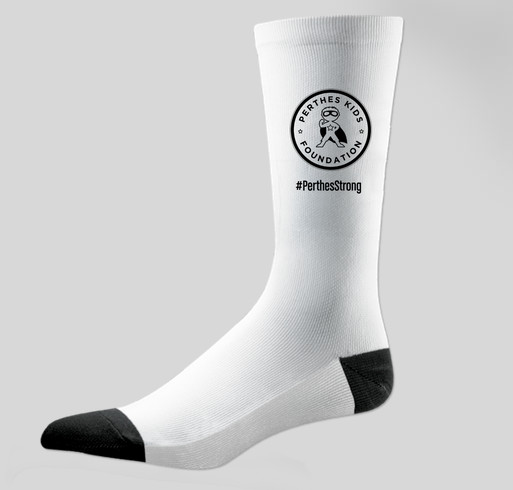 """""""Sock it to Perthes"""" crew socks! Fundraiser ends 9/22/19"""