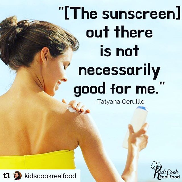 "Sunscreen is easy to buy, excruciatingly simple to spray on, but deadly hard to understand. Do you know what to look for when choosing a sunscreen? ☀ ☀ In today's interview with Tatyana Cerullo (@kokuasuncare) we share our quick 2-minute ""what to remember"" for parents who want the best, healthy experience of life for their kids AND be able to run to the beach! (It's at the 15:30 minute mark, don't miss that part!) ☀ ☀ Click the link in my profile @kidscookrealfood to watch and tag a friend who is looking for a safe sunscreen! ☀ ☀ https://kidscookrealfood.com/what-to-look-for-in-sunscreen/  #Repost @kidscookrealfood 🌈🌈🌈🌈🌈🌈 Excited to share this interview with the amazing and prolific healthy living natural mom blogger Katie Kimball, who has researched and tested over 100 natural mineral sunscreens for safety, effectiveness, and feel.  We are so honored to be one of her #toppicks !!! #sunscreen #healthyparentingconnector #reefsafe #environmentallyfriendly #safesunscreen #mineralsunscreenreview #naturalsunscreen #oneplanet #kokuasuncare #sunprotection #wearsunscreen #sunsafe #zincsunscreen #summersun #naturalskincare #reefsafe"