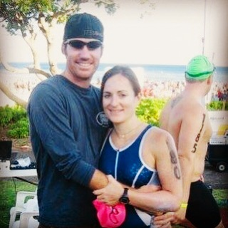 Throwback to 11 years ago around this time. This is right before the Honu half Ironman 70.3 Hawaii.  See the white sunscreen smudge marks on my face and arms?  It came off while I was swimming 1.2 miles, biking 56 miles, and running 13.1 miles.  Long races and triathlon training sessions wishing for a high performance natural zinc sunscreen that works, rubs in, stays on, and doesn't sting eyes, was one of the reasons that Kōkua Sun Care exists today! ☀️☀️☀️☀️☀️☀️☀️☀️ Tomorrow a.m, we will be at the Aloha Salads Summer Sprint 1-mile Swim from Sunset Beach to Ehukai Beach Park, first race of the North Shore Swim Series @northshoreswimseries with plenty of complimentary Kōkua sunscreen for all to try! 🏊‍♀️ 🏊‍♂️ 🏊‍♀️ #honutriathlon #triathlon #wearsunscreen #halfironman #naturalsunscreen #zincsunscreen #northshoreswimseries #sunsetbeach #ehukai #alohasalads #openwaterswim #swimming #oceanswim #kokuasuncare #reefsafe #triathlontraining #alohafriday #ironman