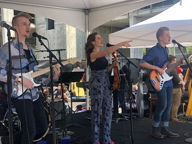 New Parliament @ Spring Woodshed! Join in on the fun and register for the Annie Moses Summer Music Festival - the deadline is May 19! www.anniemosessummermusicfestival.com    #anniemosesband #conservatoryofanniemoses #anniemosessummermusicfestival #franklintn #visitfranklintn #factoryatfranklin