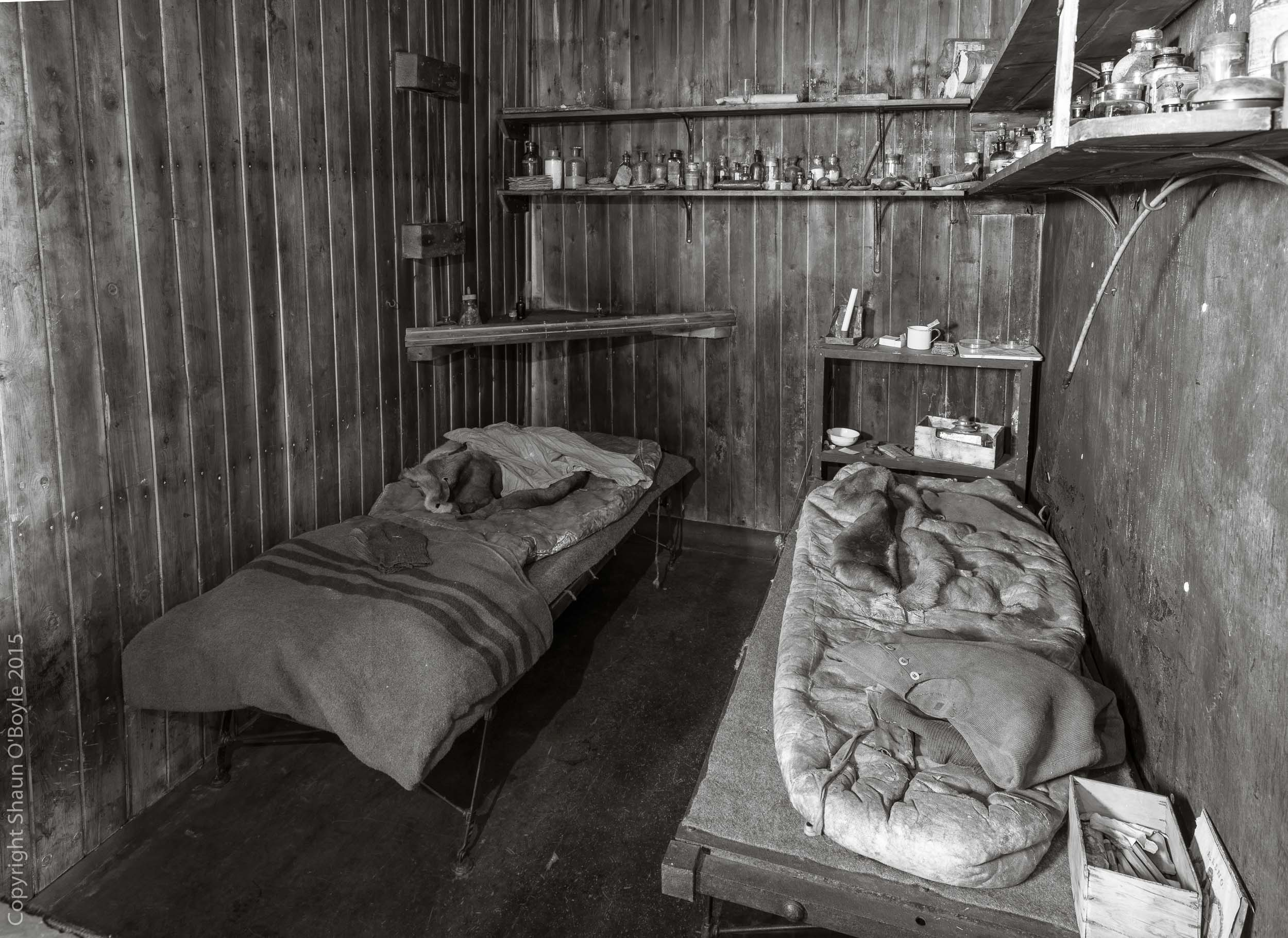 Evans and Wilson's cots