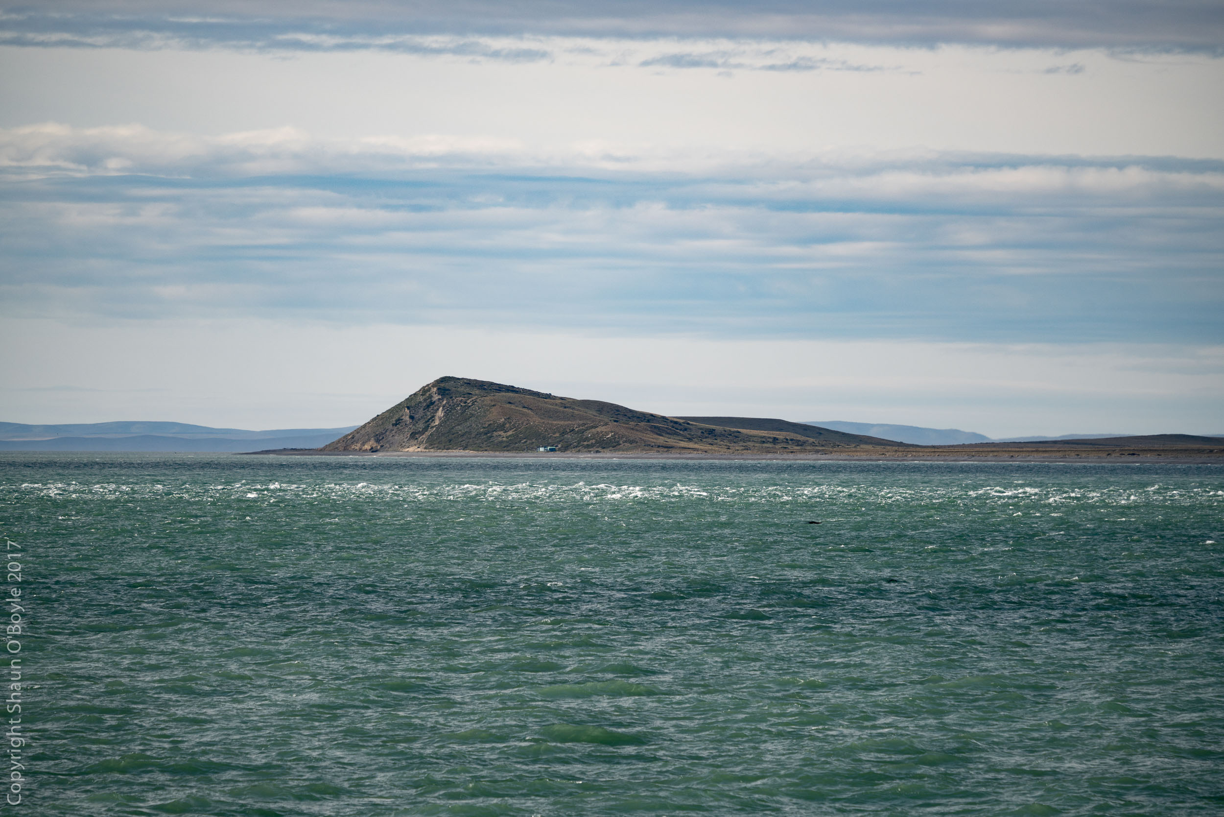 Exiting the Straits of Magellan