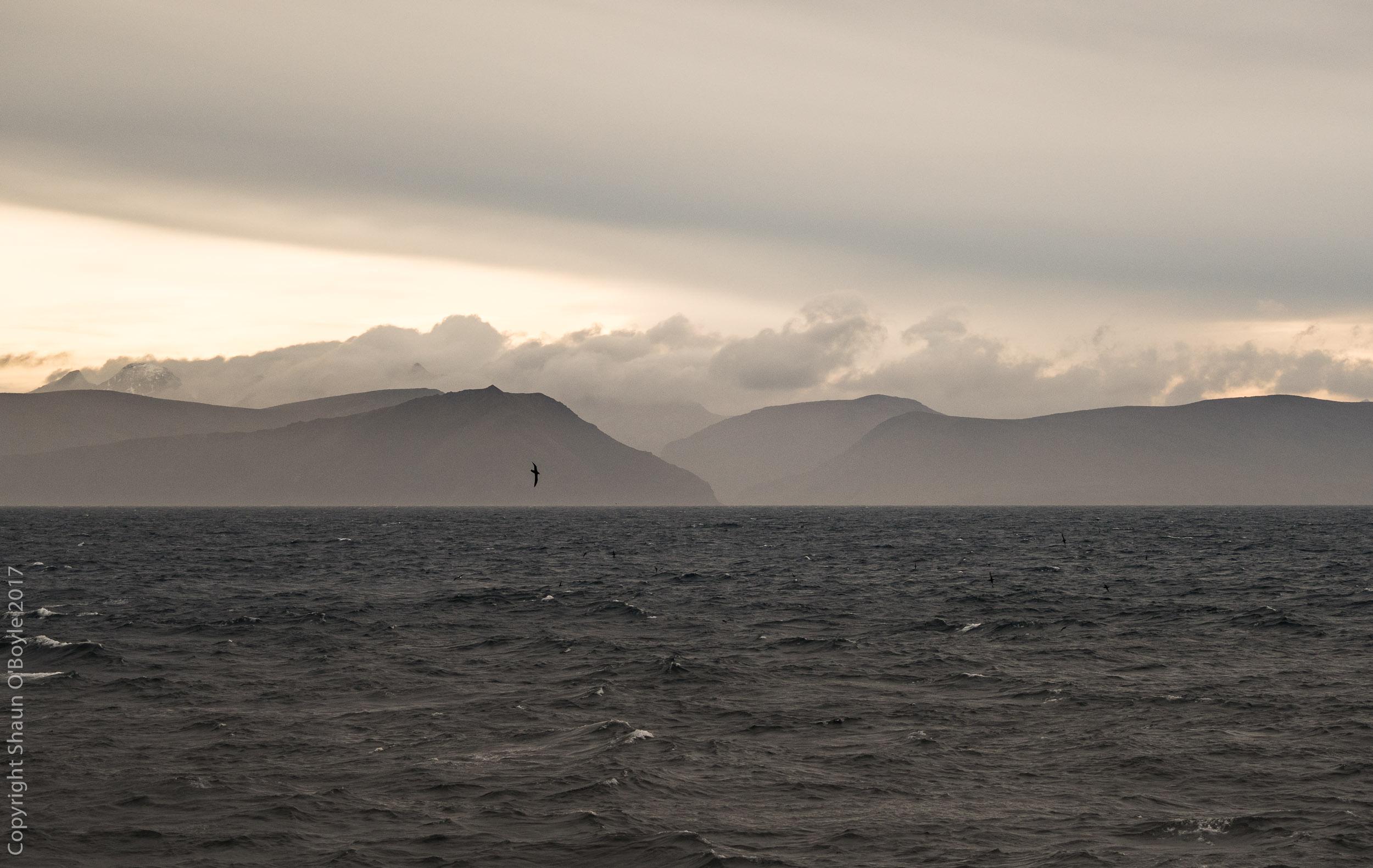Isla del los Estados, last land we will see until Antarctica