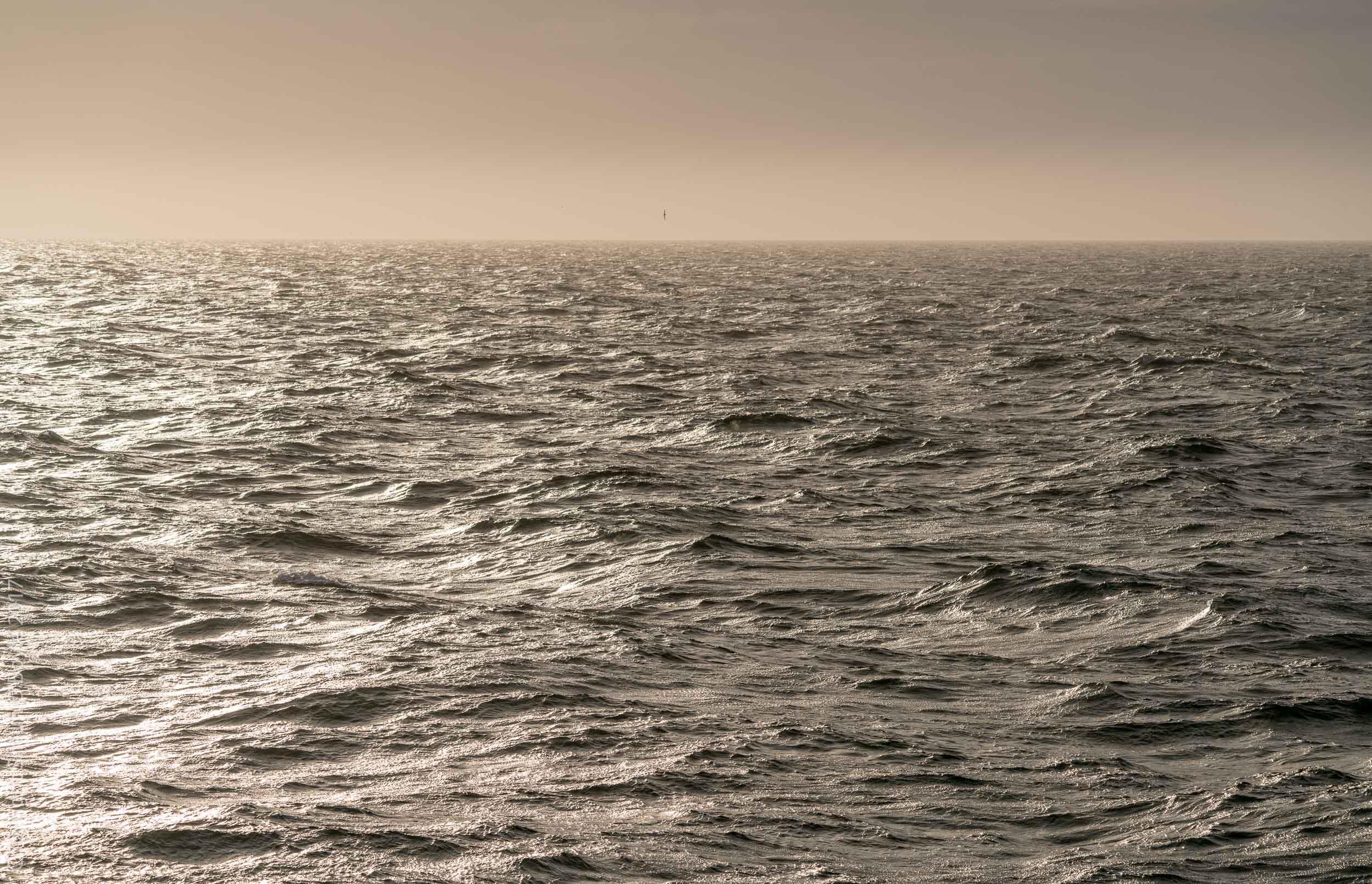 Drake Passage on a calm evening