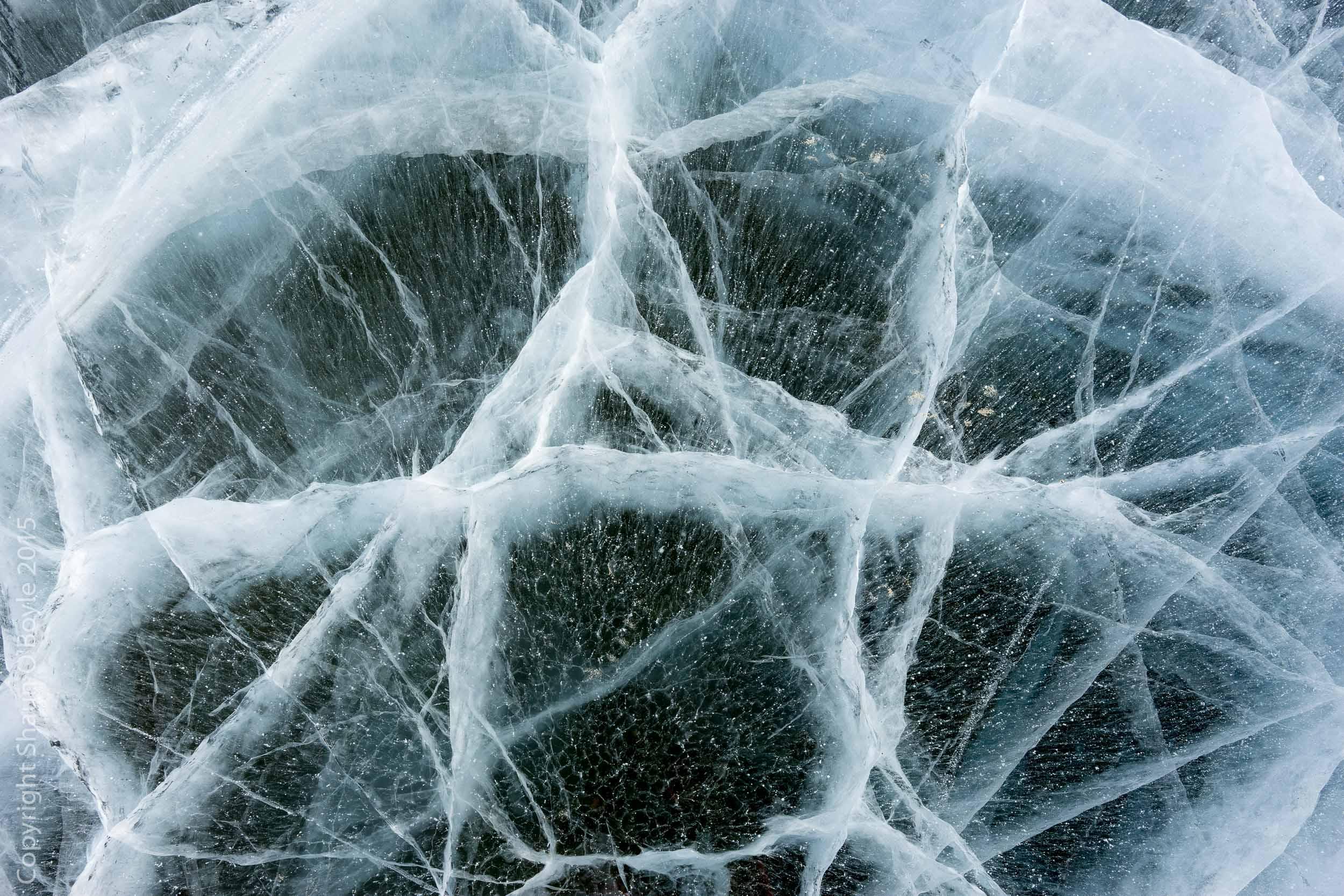 Ice on Lake Bonney
