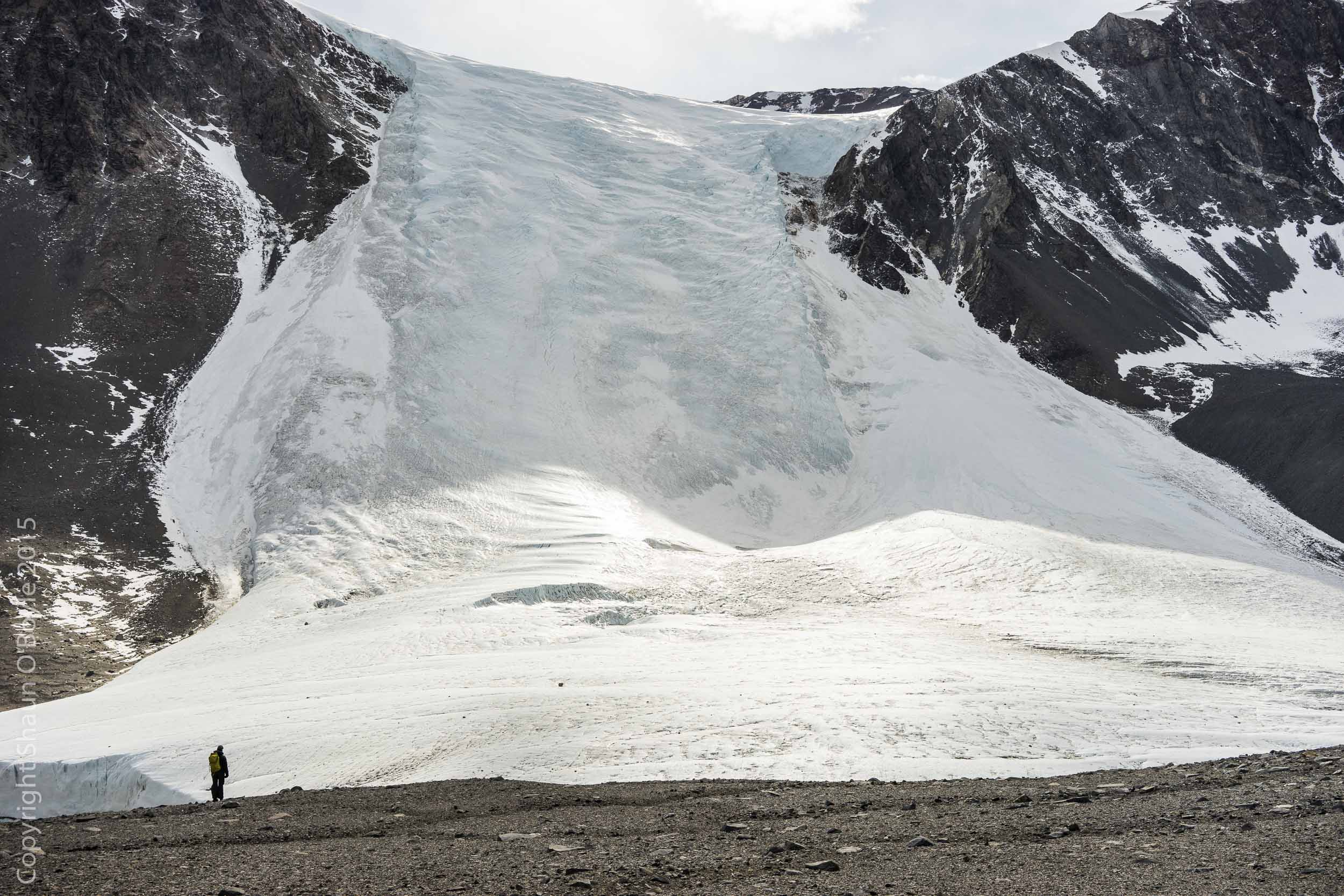 Seuss Glacier from the decent of the Nussbaum Riegel