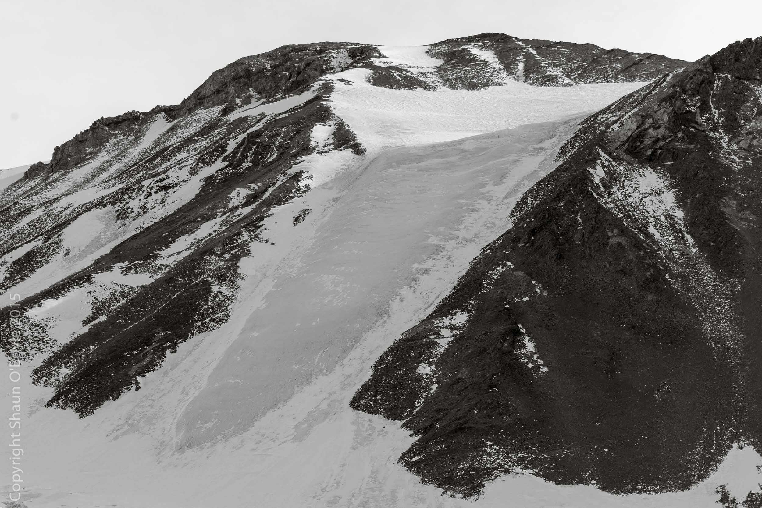 Devil's Tongue Glacier