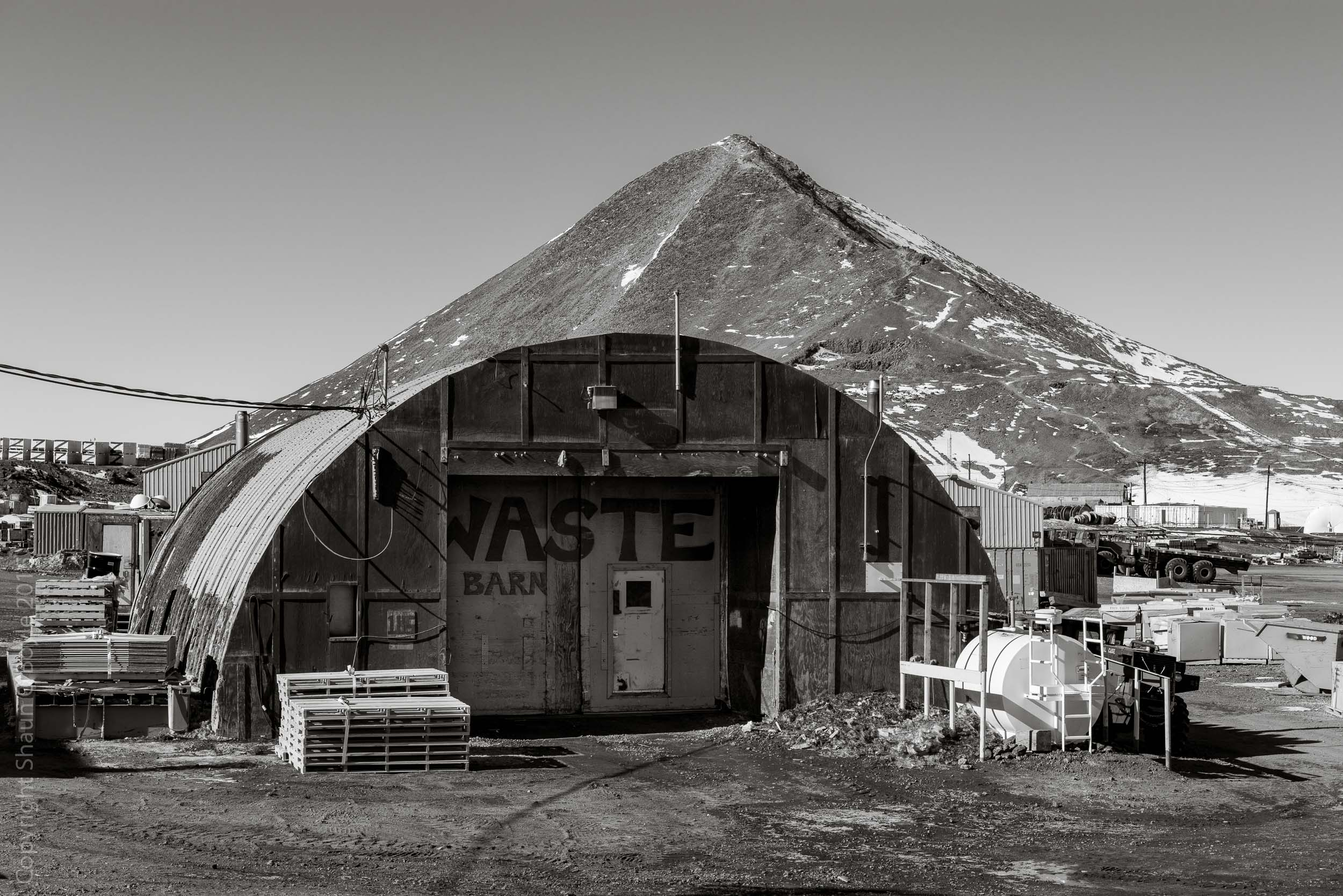 Waste Barn, the other place where it all ends up.