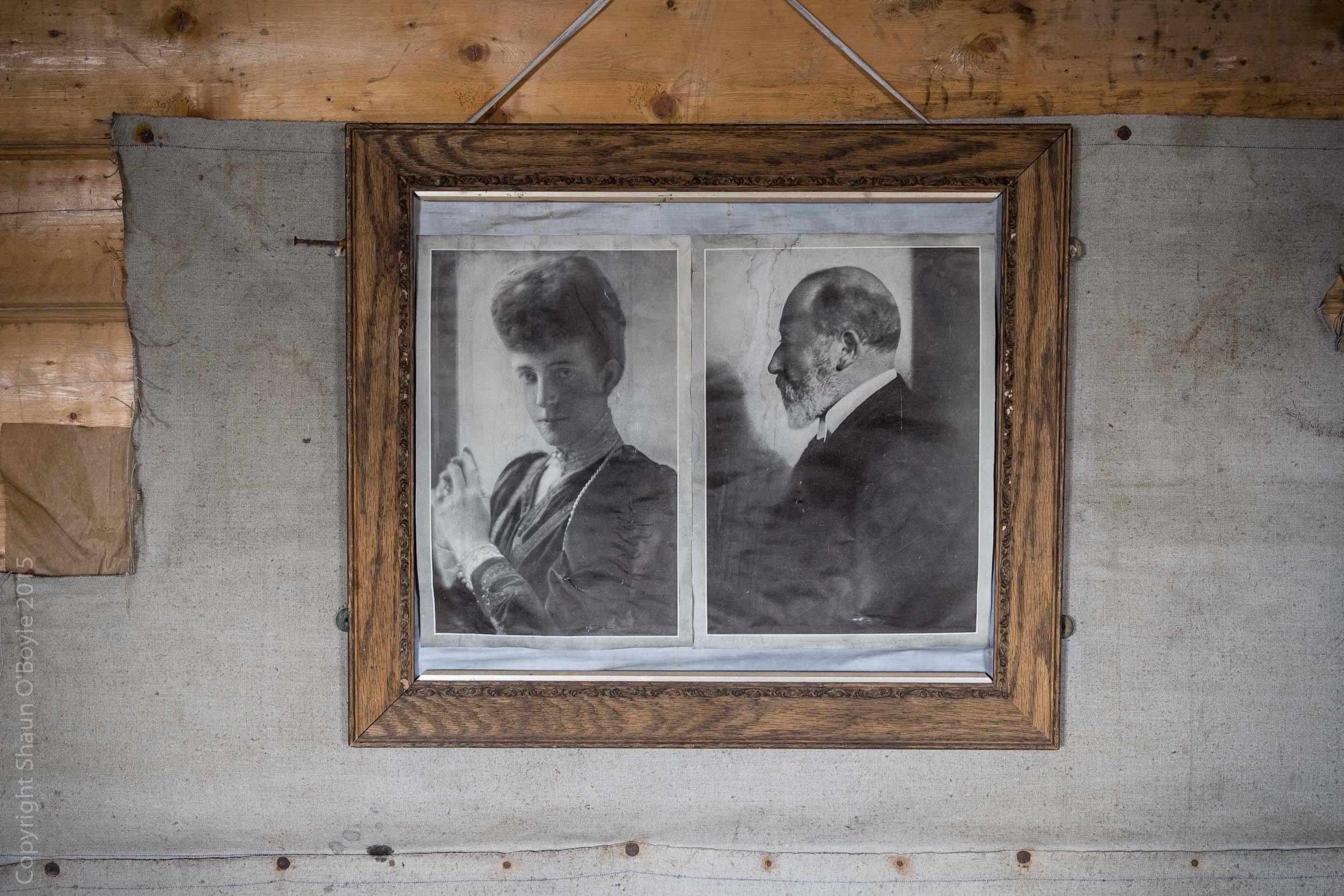 Portraits of Queen Alexandra & King Edward VII