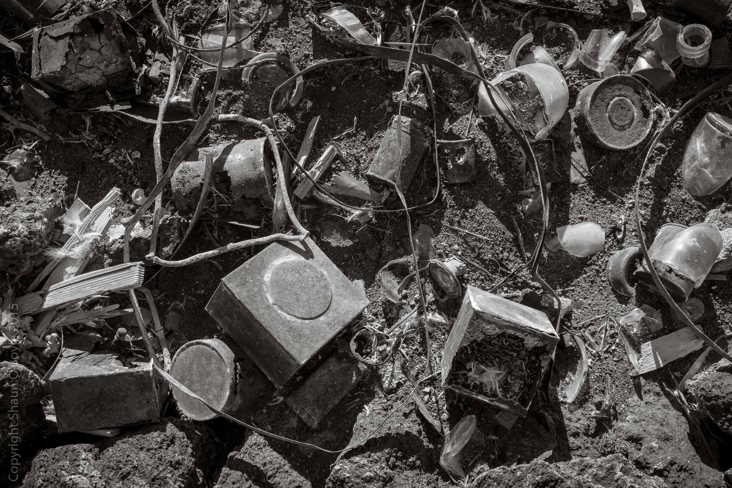Heroic era refuse pile