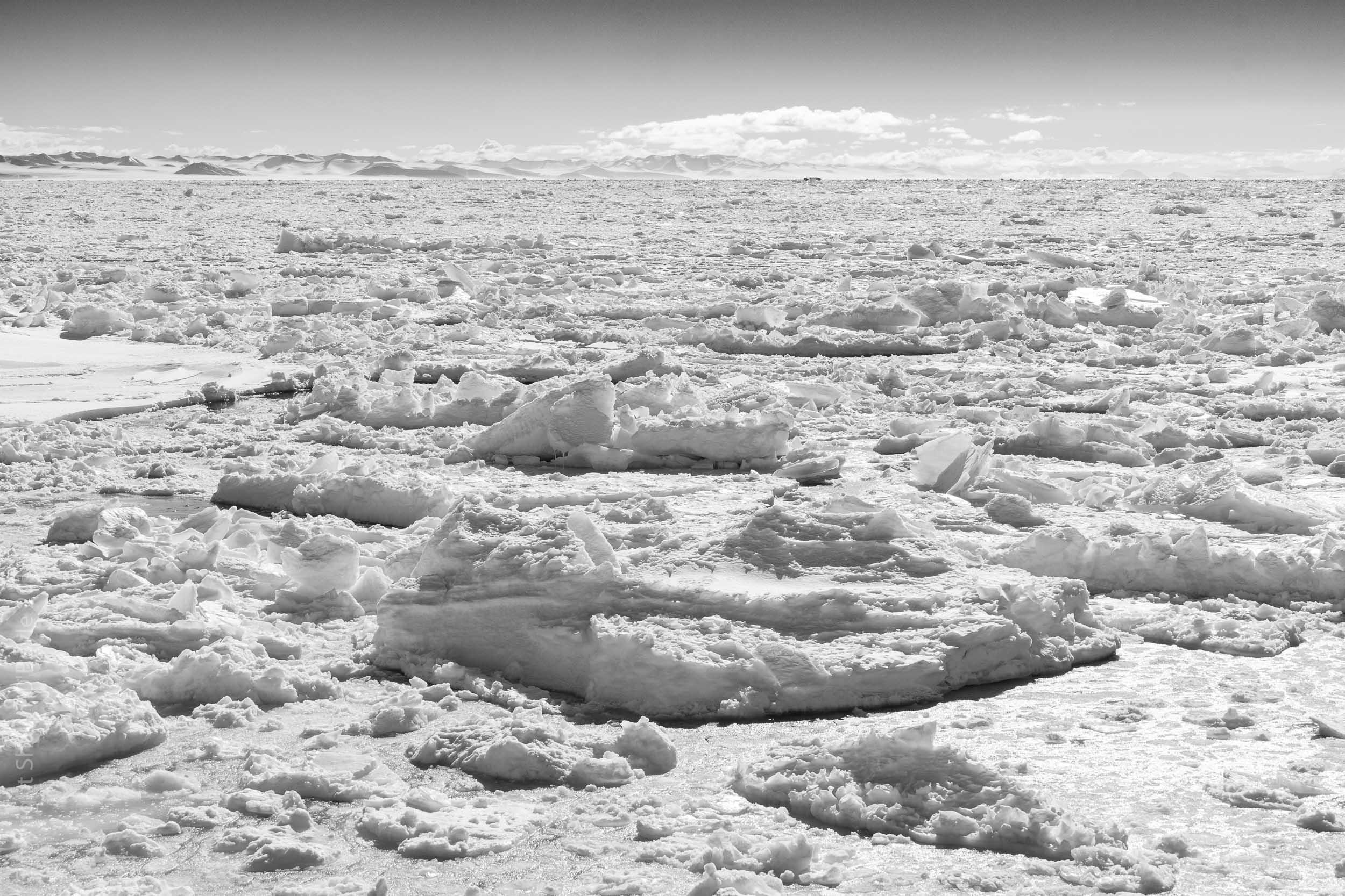 McMurdo Sounds ice breakup