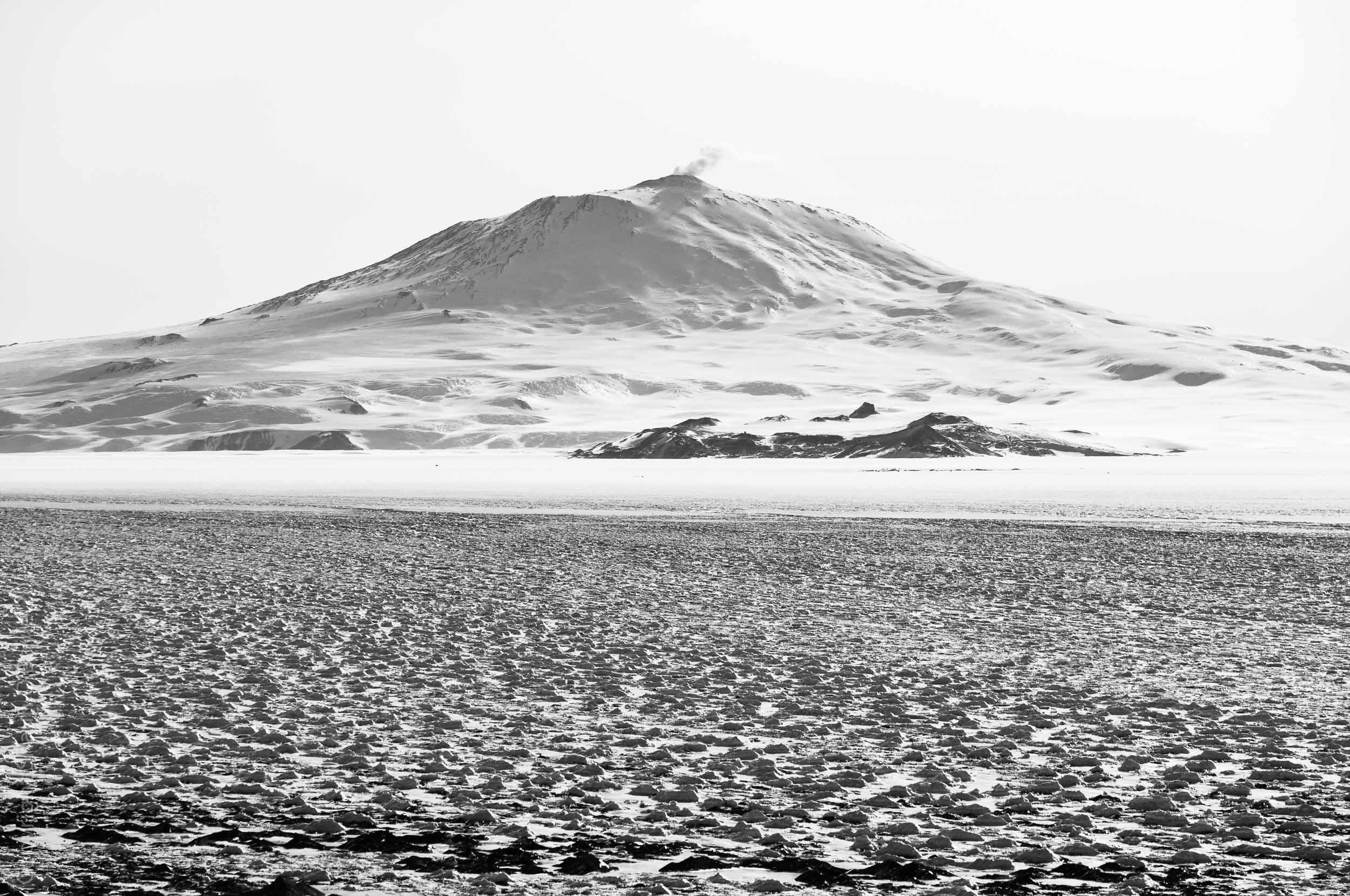 Mount Erebus from Black Island