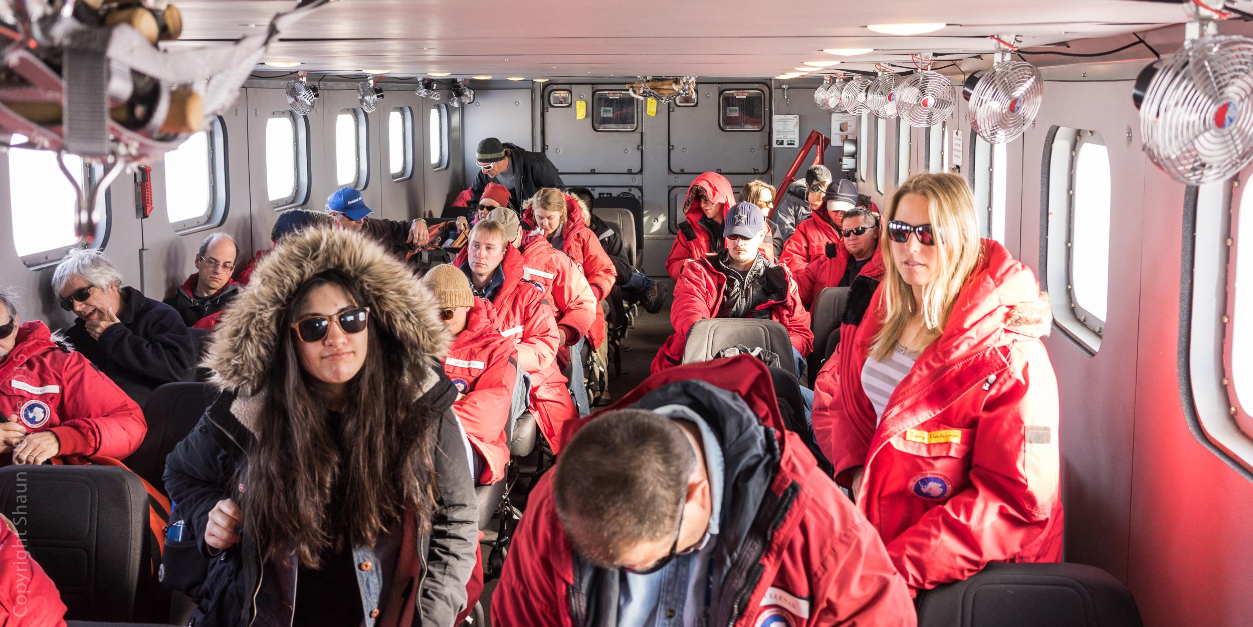 The Kress used to shuttle scientists and techs to the LDB (Long Duration Balloon) site each morning and return to McMurdo each evening.