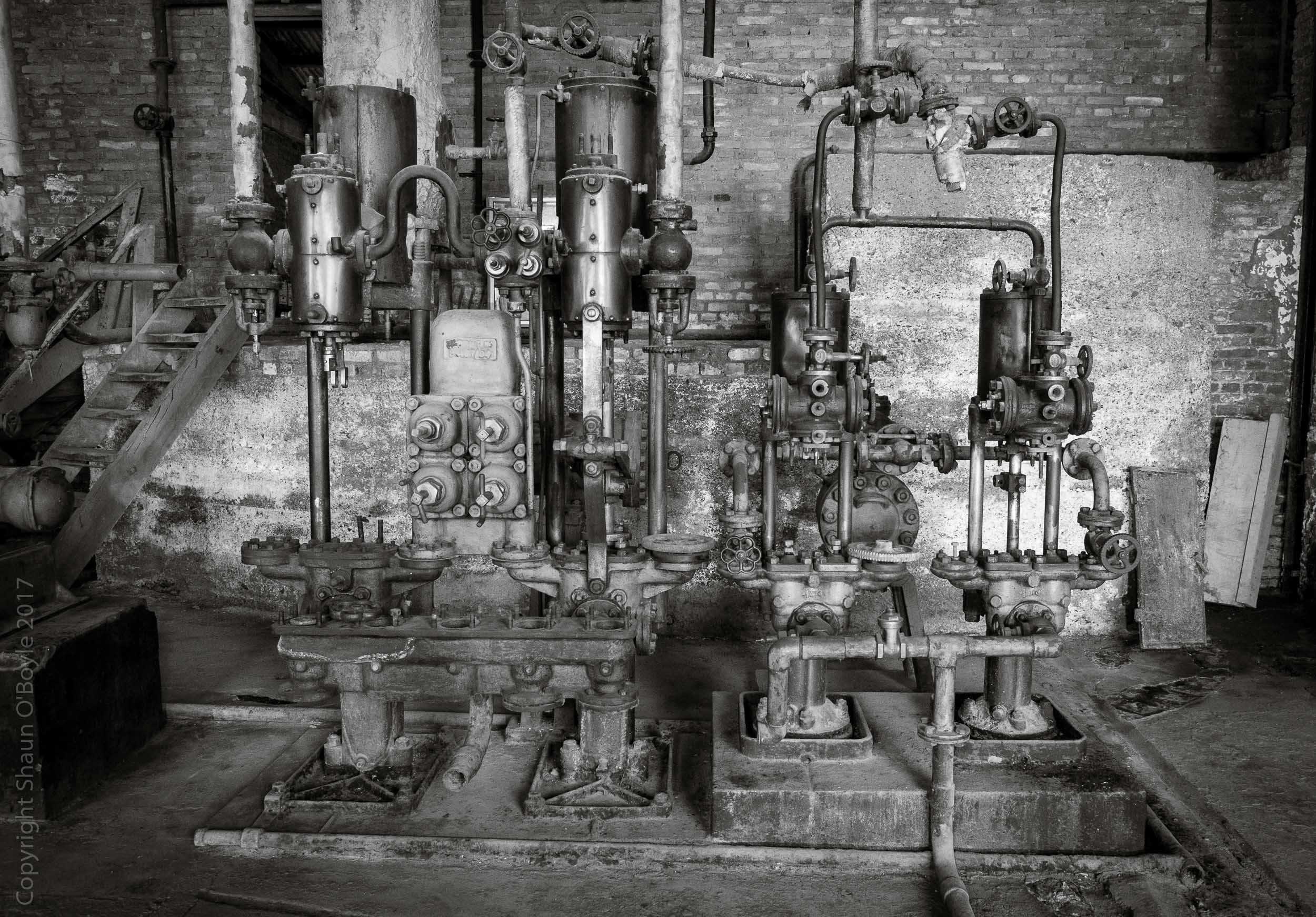 Cold Storage Plant, Puerto Bories, Chile.