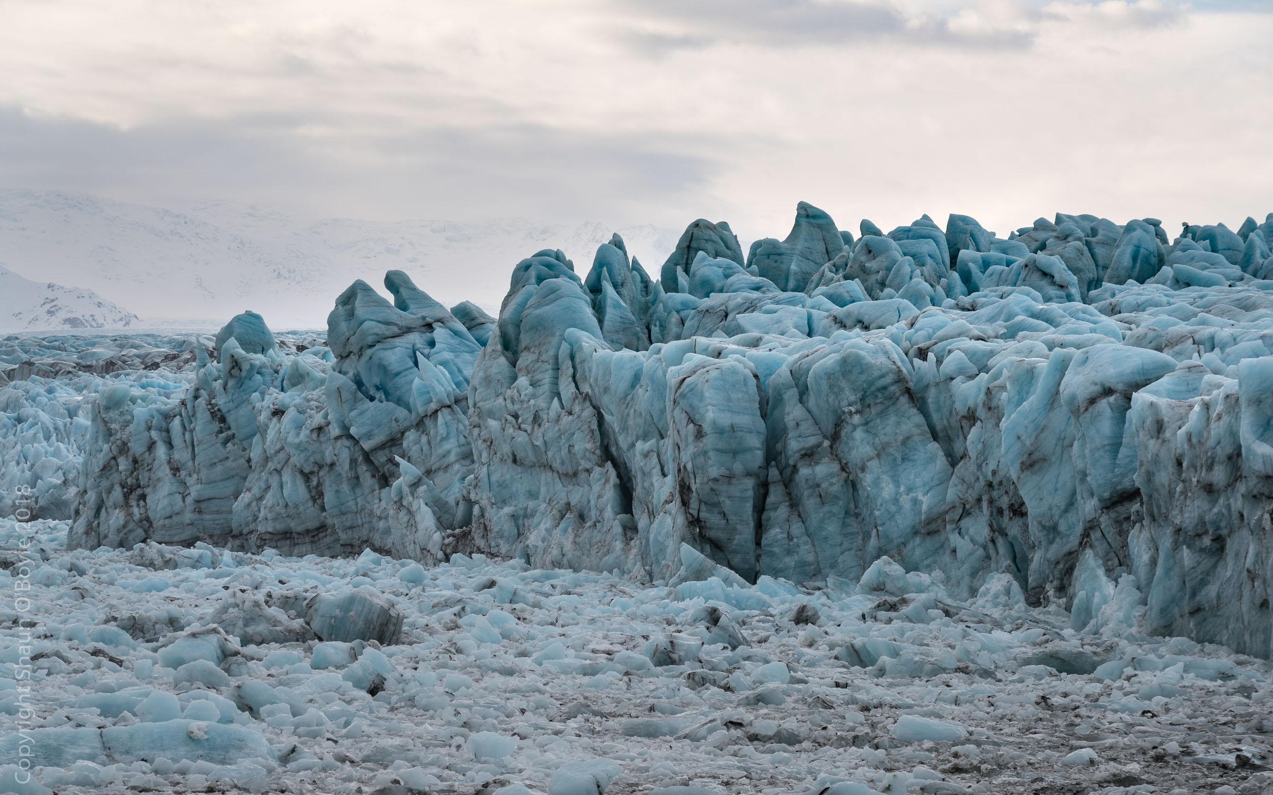 Glacier trek and Ice Cave on the Vatnajokull Glacier