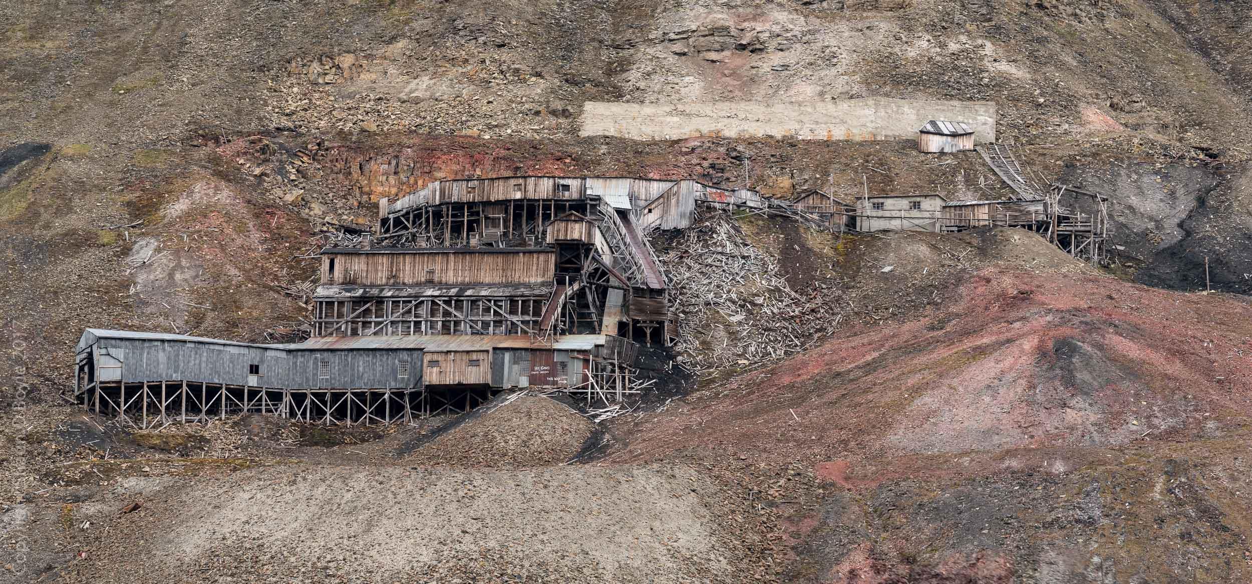 Mine 2B pithead above Nybyen