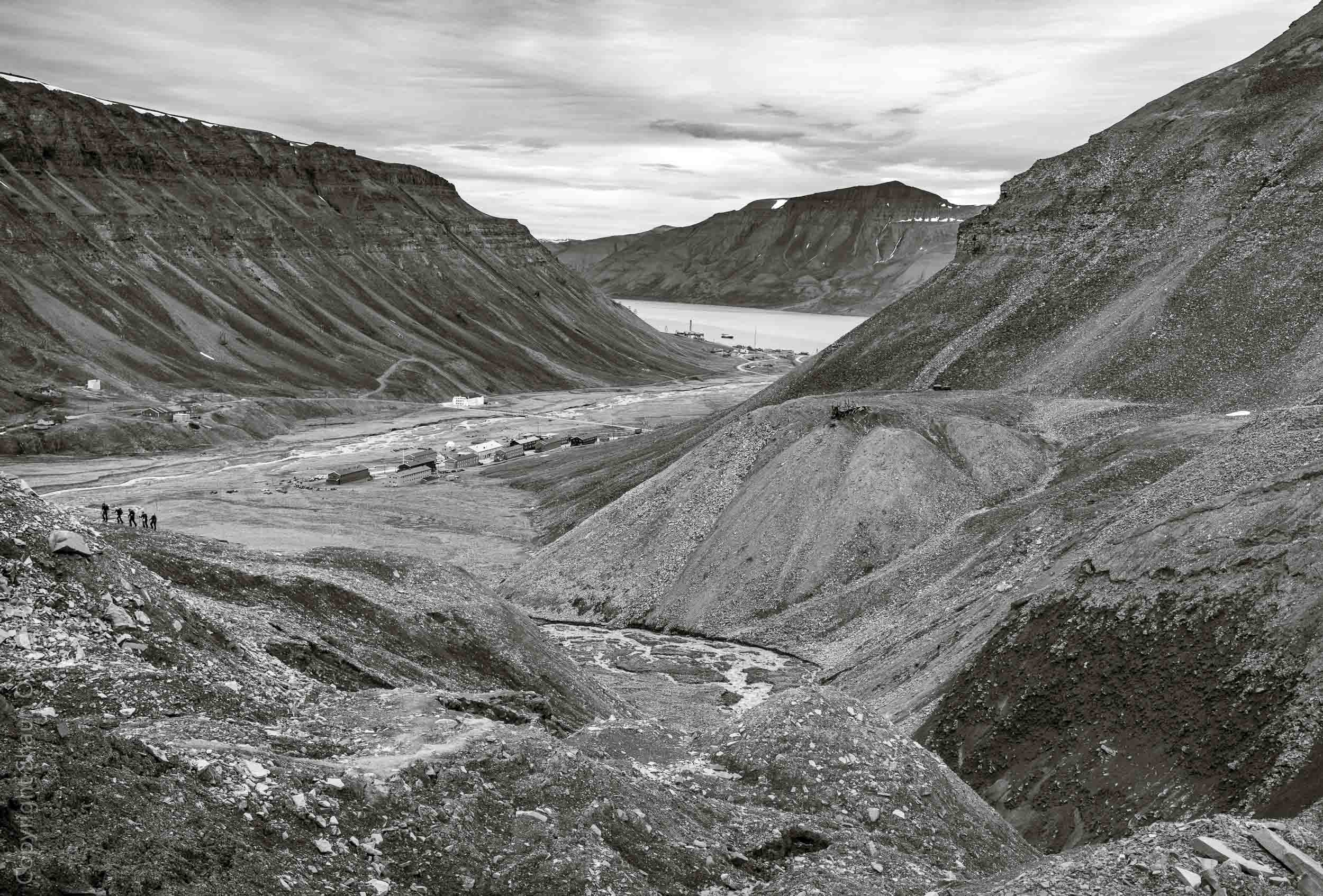 Nybyen and Mine #2 tailings piles