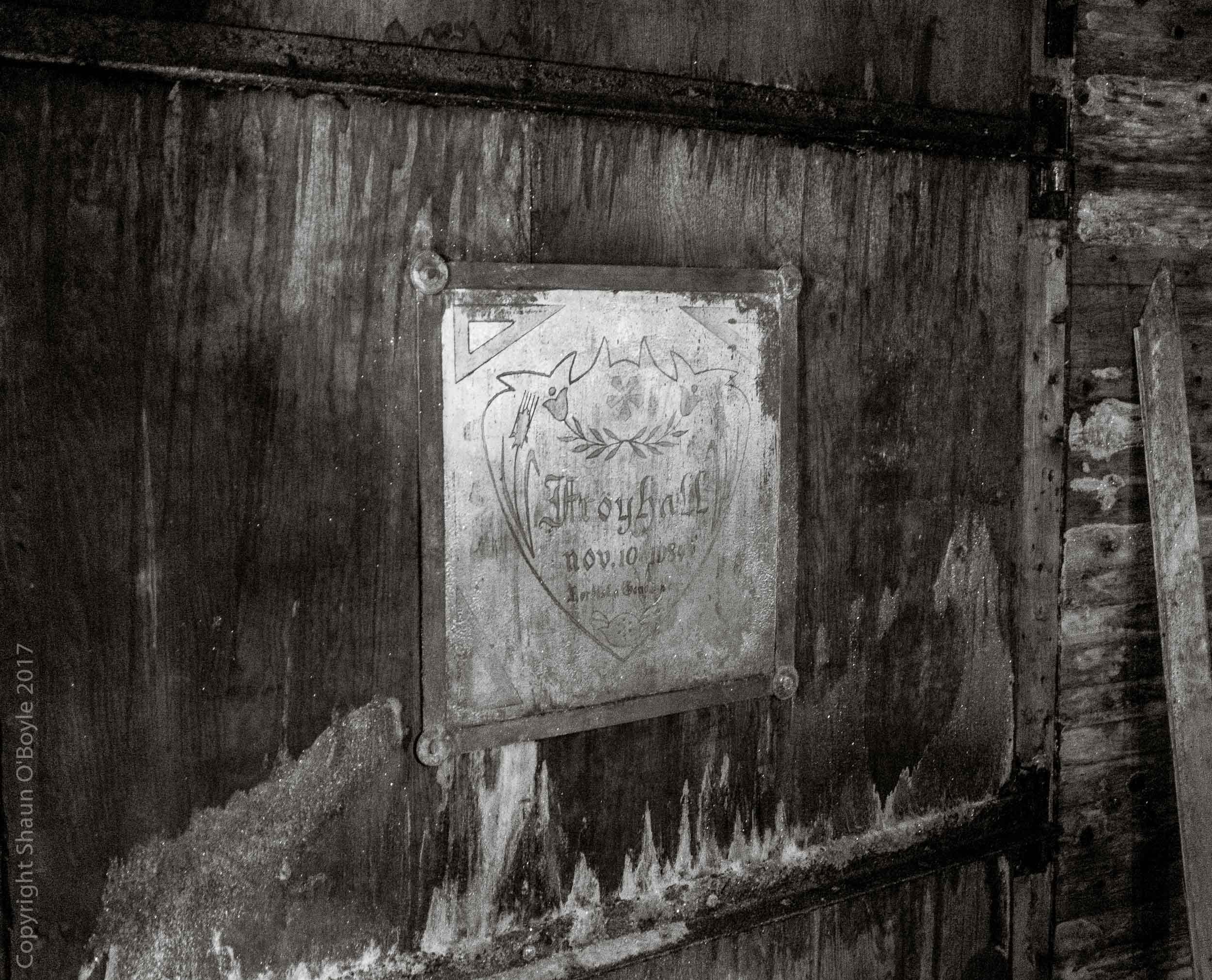 Original global seed vault deep in Mine #3