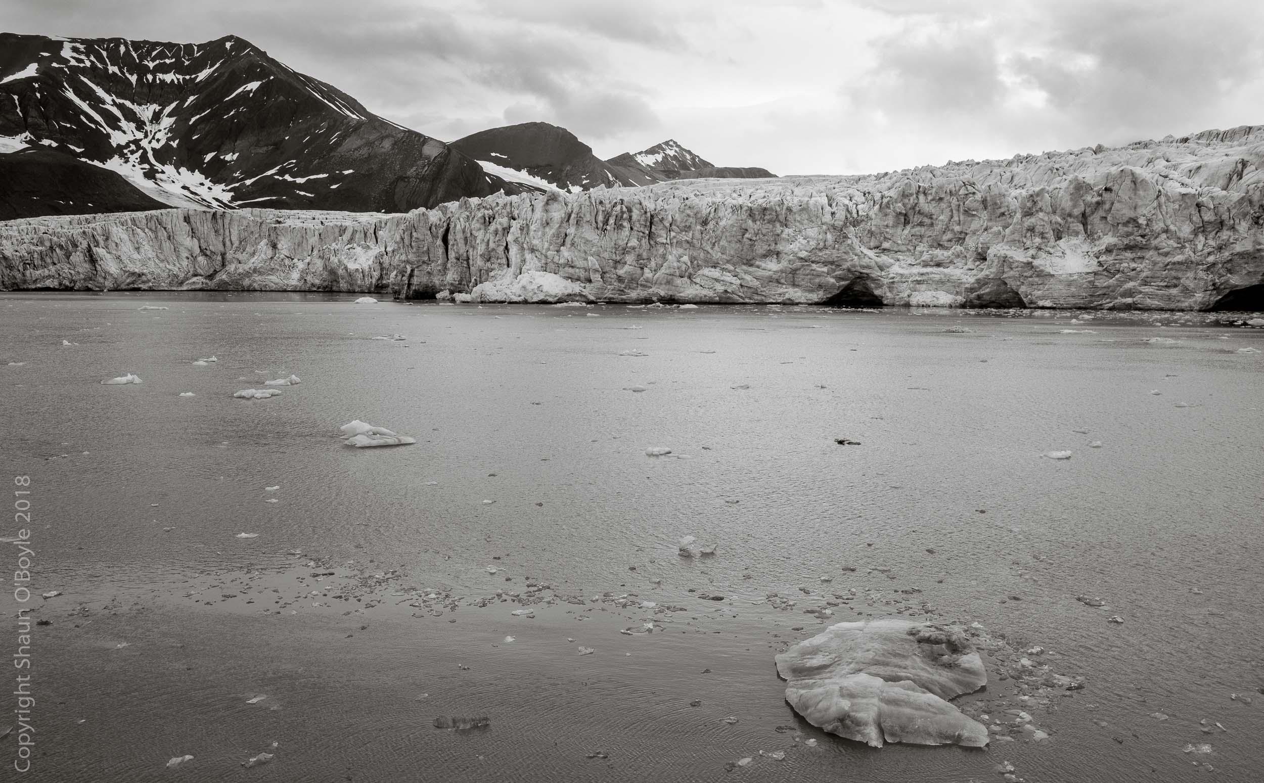 Esmark Glacier from Polar Girl