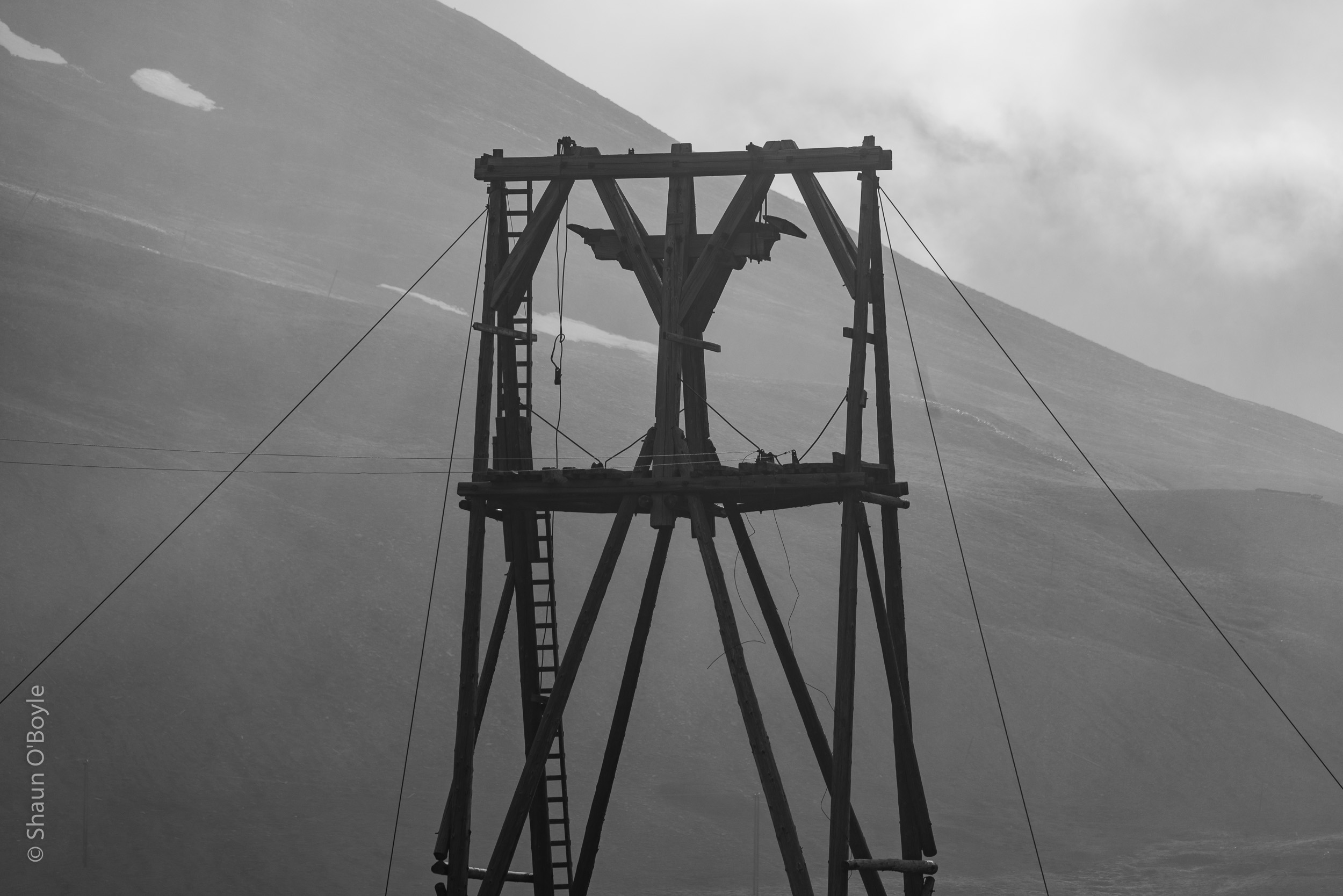 Coal Cableway Structure