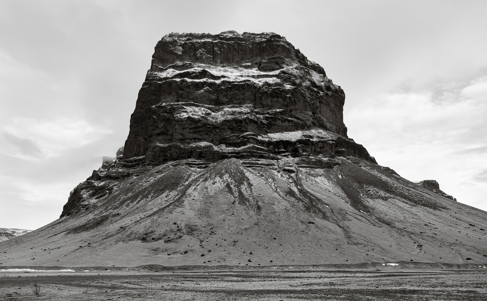 Mount Lómagnúpur, home of the giant Járngrímur
