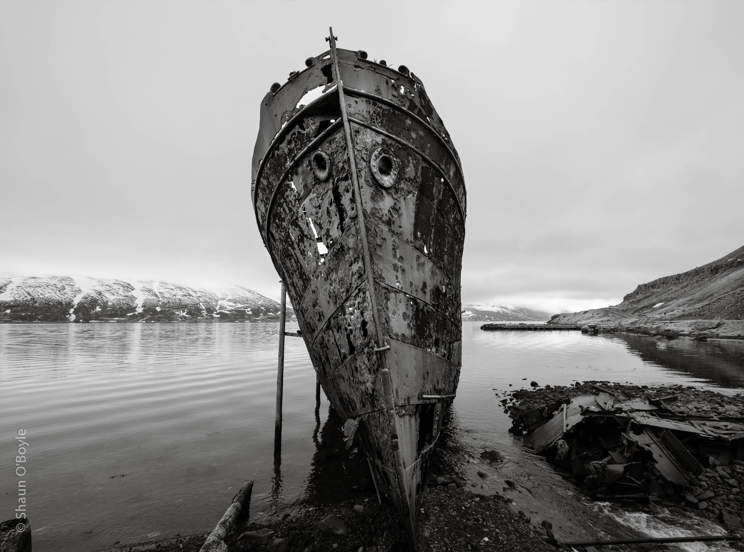 Steamship Sudurland, Djupavik