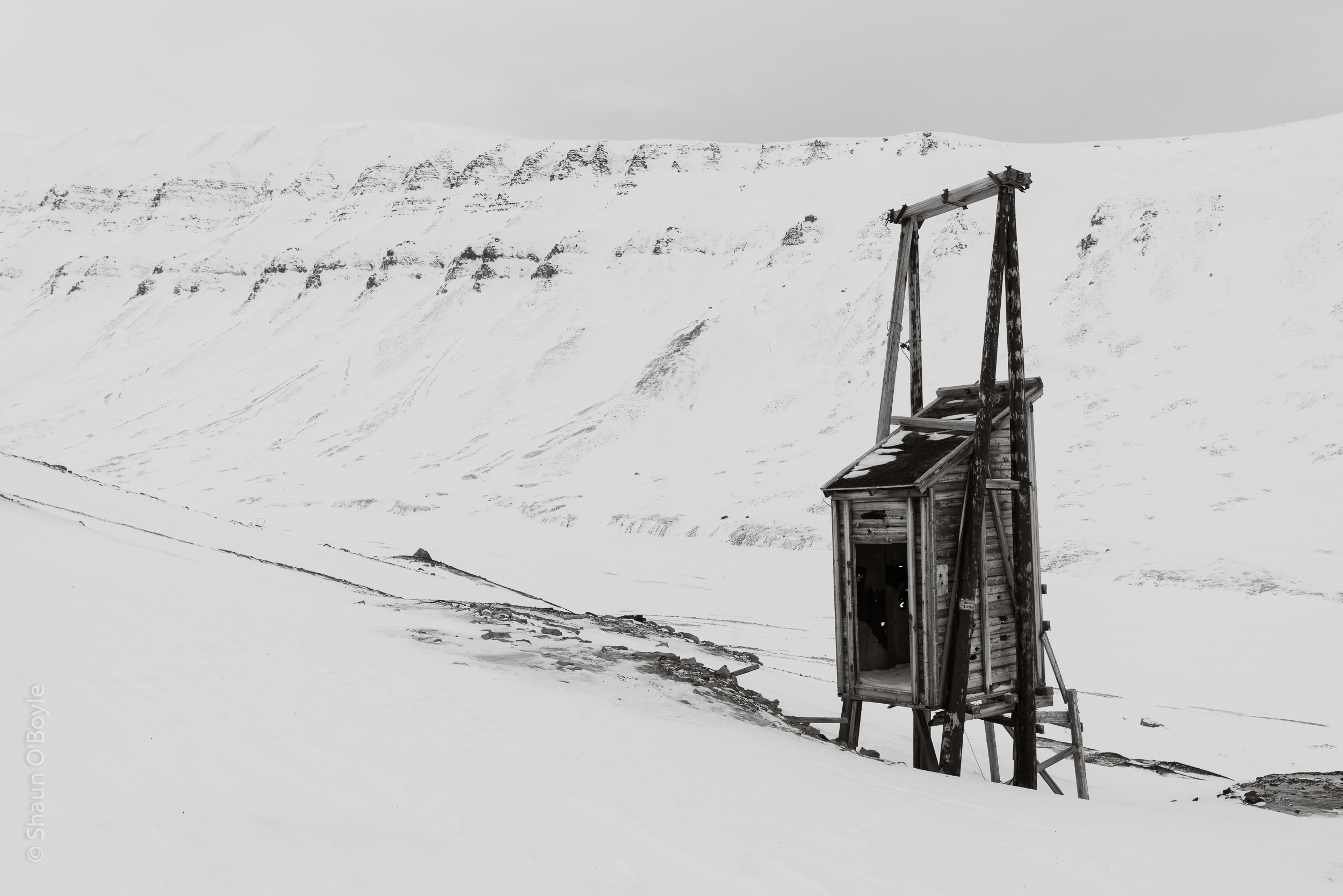 Coal Mine #5, Endalen, Spitsbergen