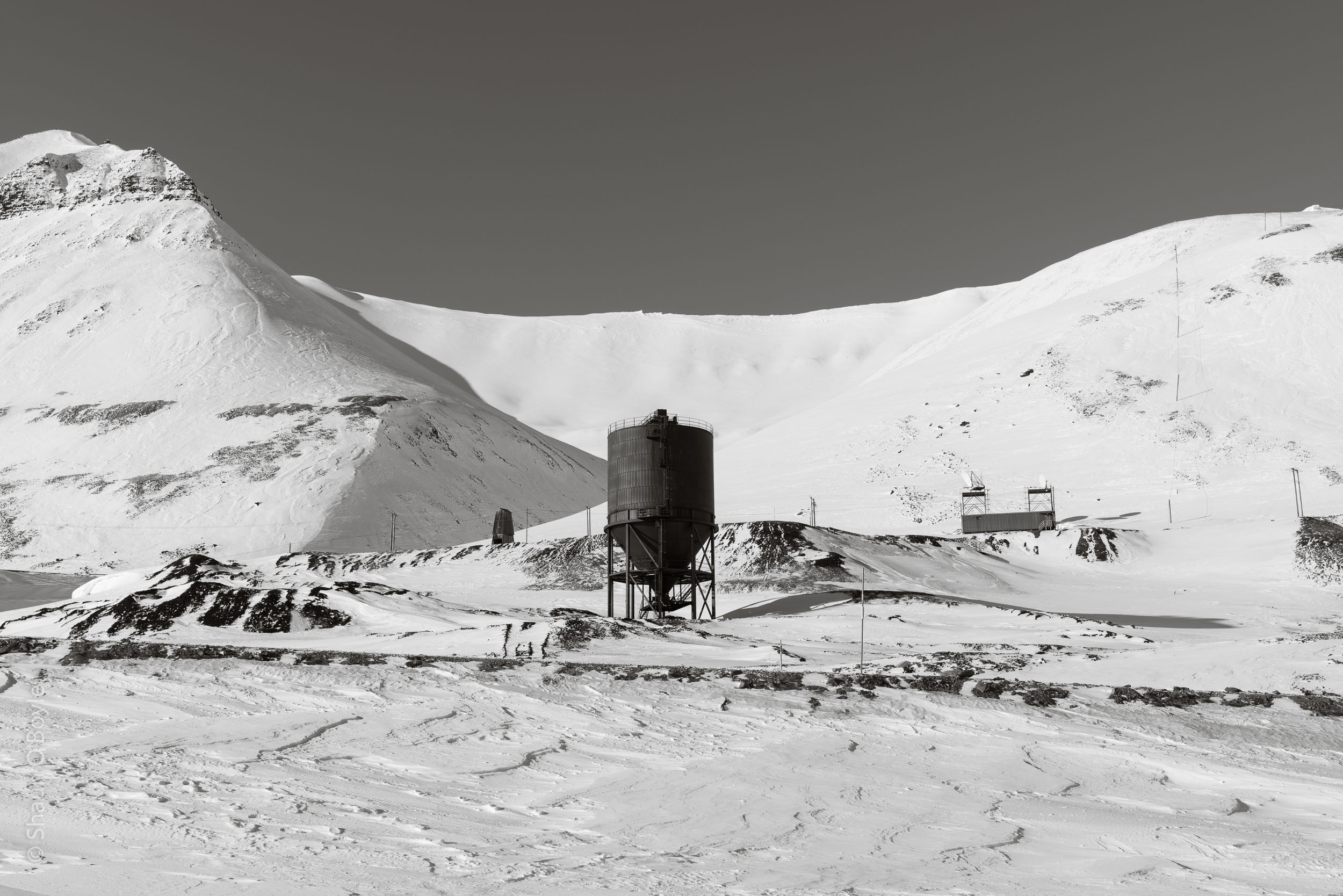 Norwegian coal mining settlement of Svea